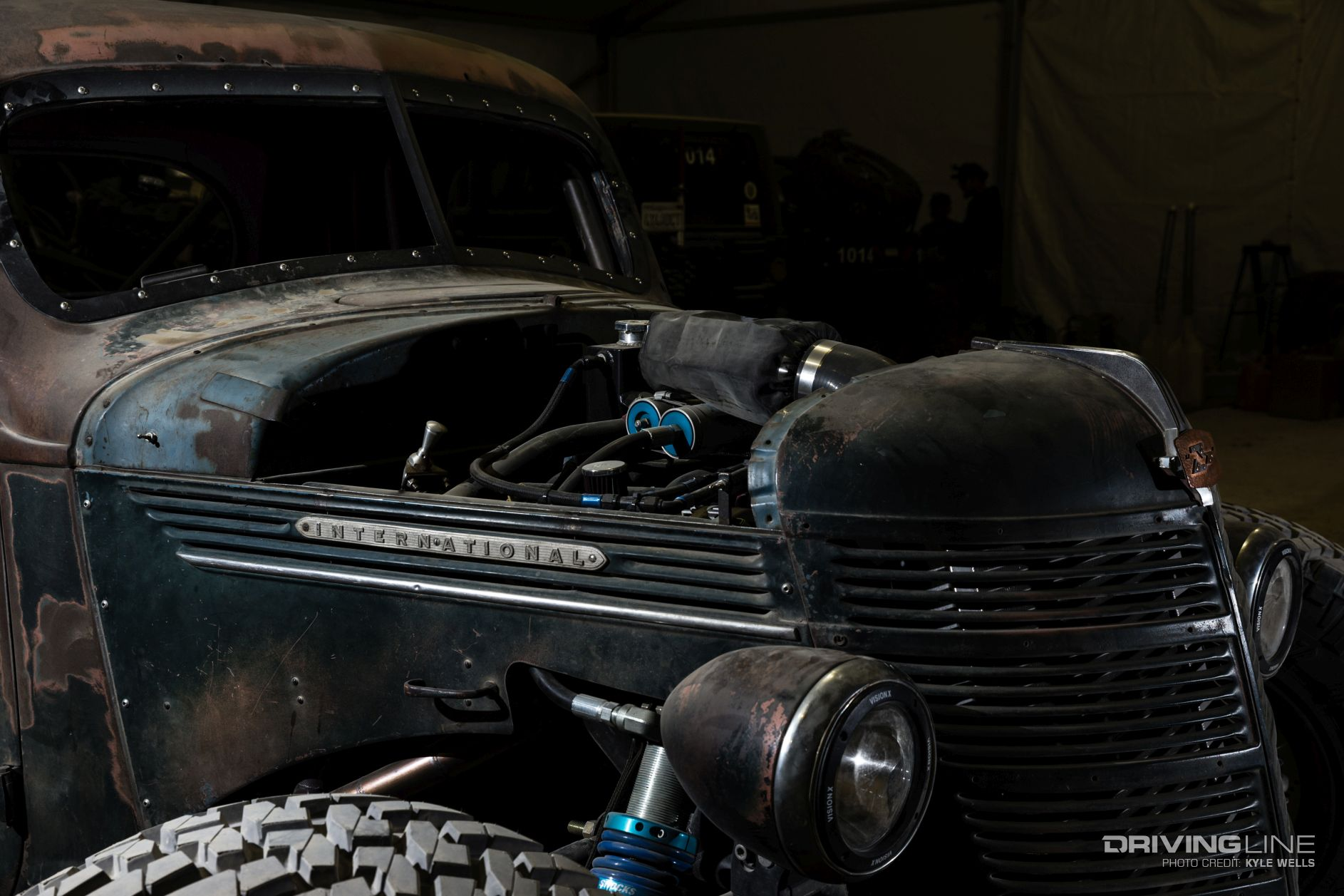 Trophy Rat A Hot Rod Pickup With Real Off Road Chops Drivingline International Wiring Harness Preview Image