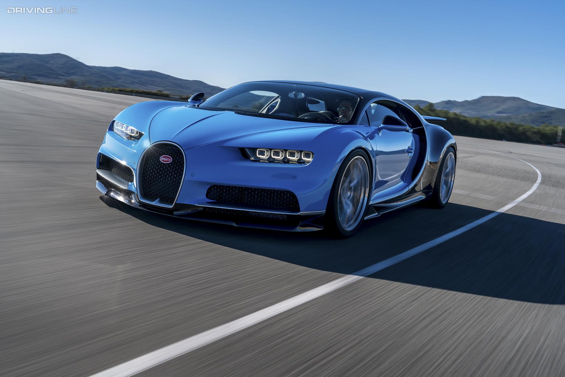 View From The Top Bugatti Chiron Drivingline