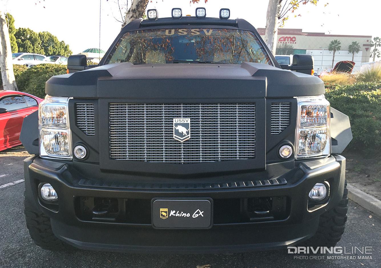 USSV's Rhino GX: The $200,000 Hummer Eater | DrivingLine