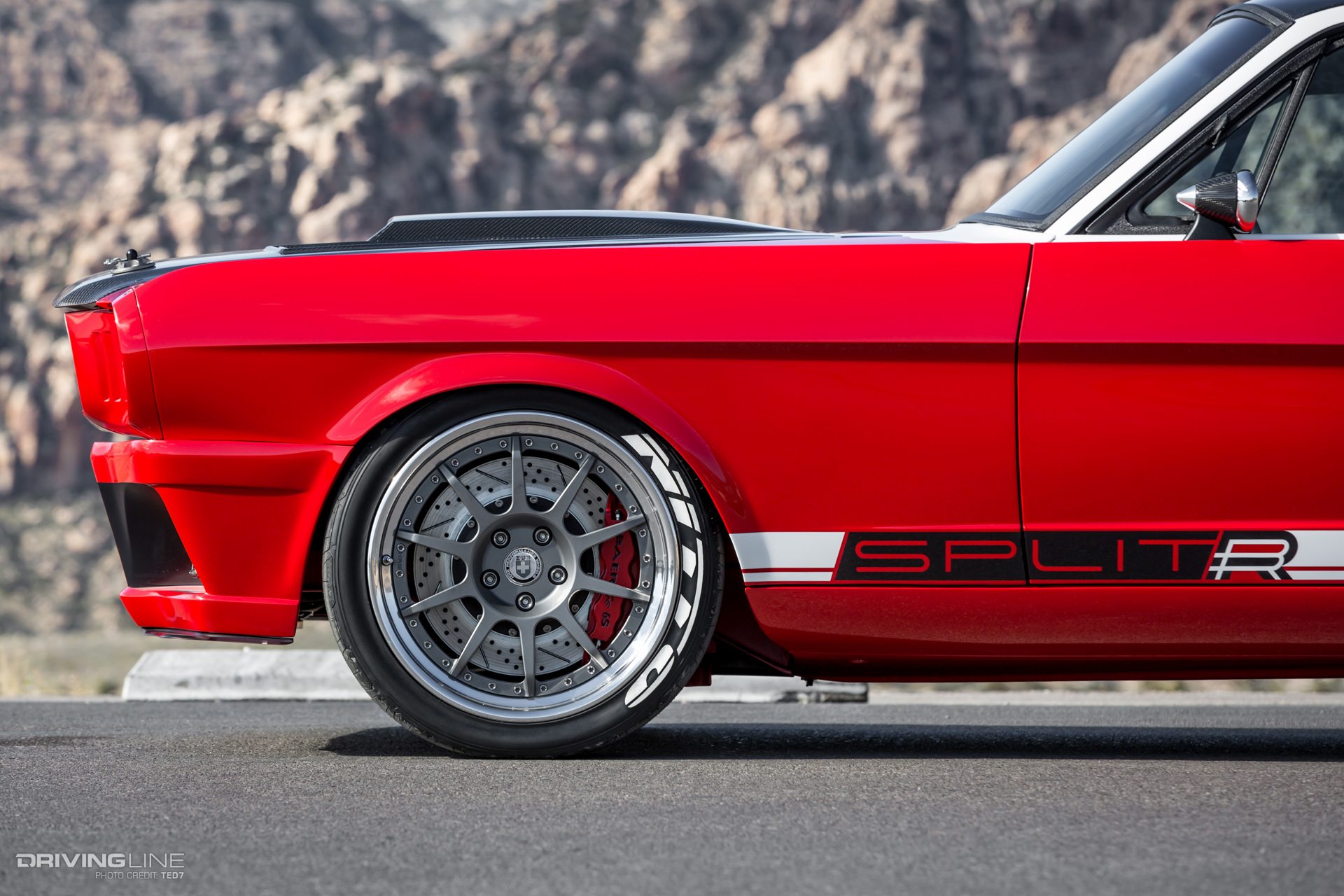 preview image & The Ringbrothersu0027 SPLITR Mustang Gives a Whole New Meaning to ... markmcfarlin.com