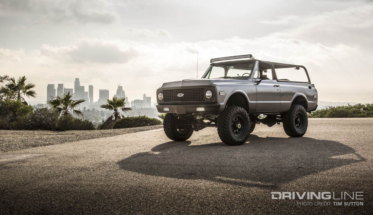 Chevy K5 Blazer Custom Fit for Everyone from Rockstars to ...