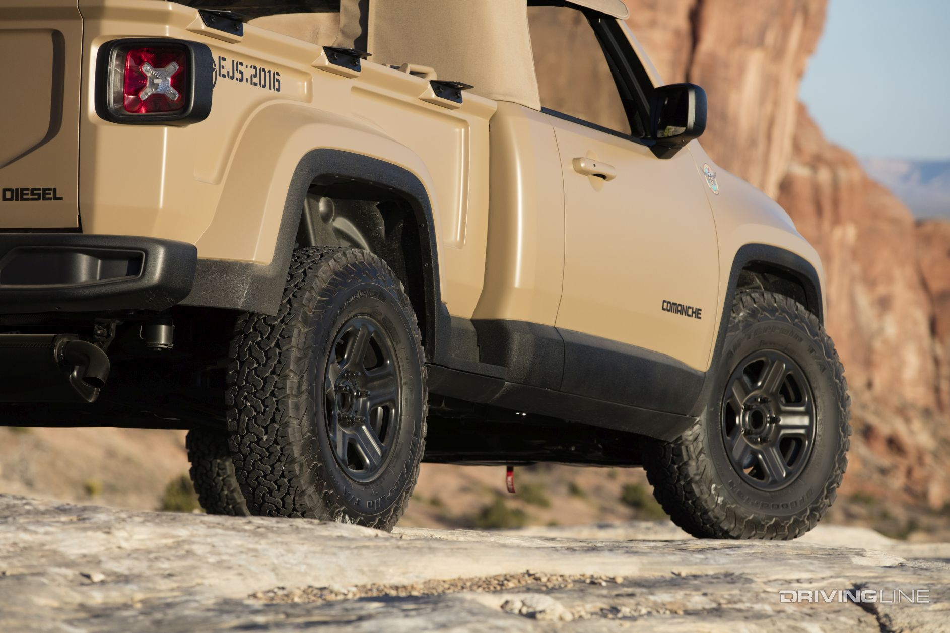 2016 Jeep Comanche Concept [Video] | DrivingLine