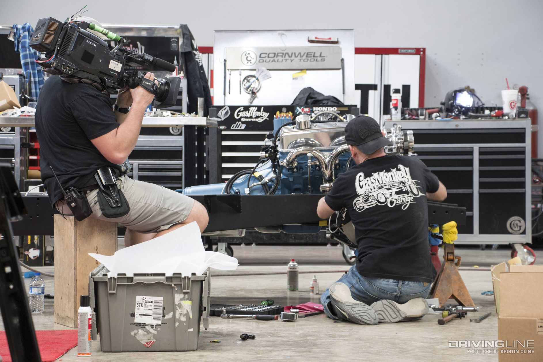 gas monkey garage s aaron kaufman on building cars for. Black Bedroom Furniture Sets. Home Design Ideas