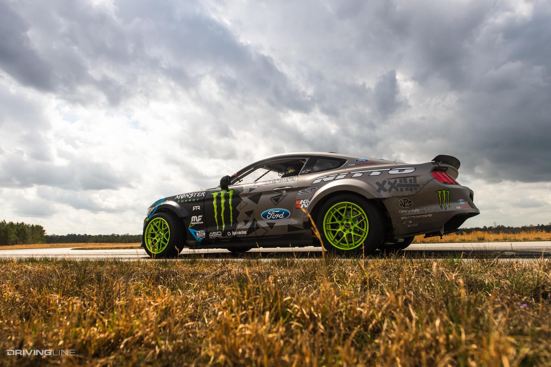 Vaughn Gittin Jr S 900hp 2016 Ford Rtr Mustang Drift Car