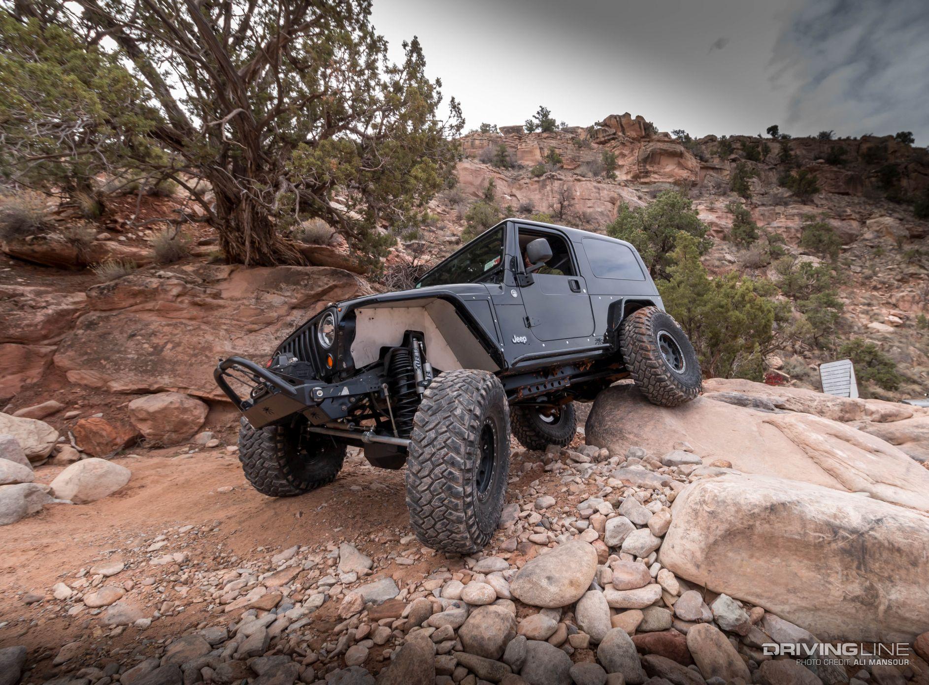Jeep Wrangler Top View >> The LS LJ: Erik Miller's 2005 Jeep Wrangler Unlimited ...