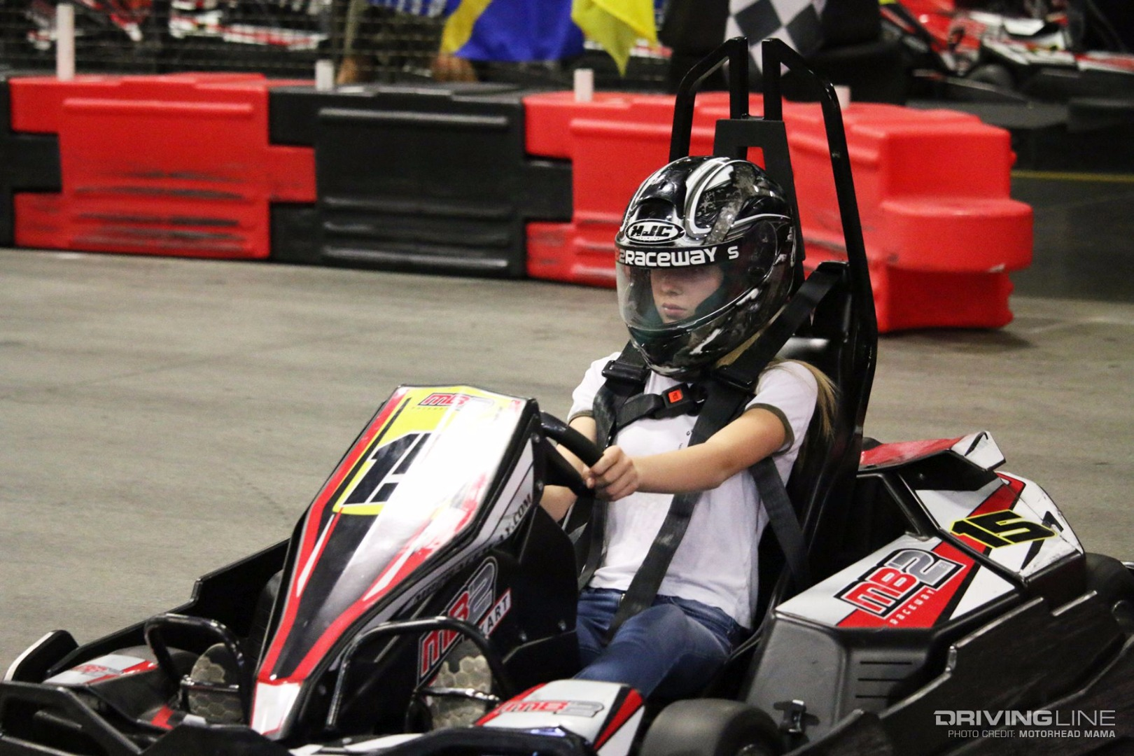 Think, Go kart racing remarkable