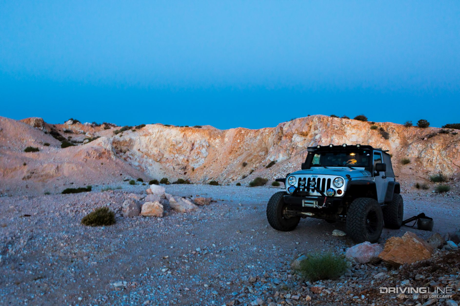 2016 Jeep Wrangler Diesel >> Mojave Desert Off-Roading: Mangled Metal and Windy ...