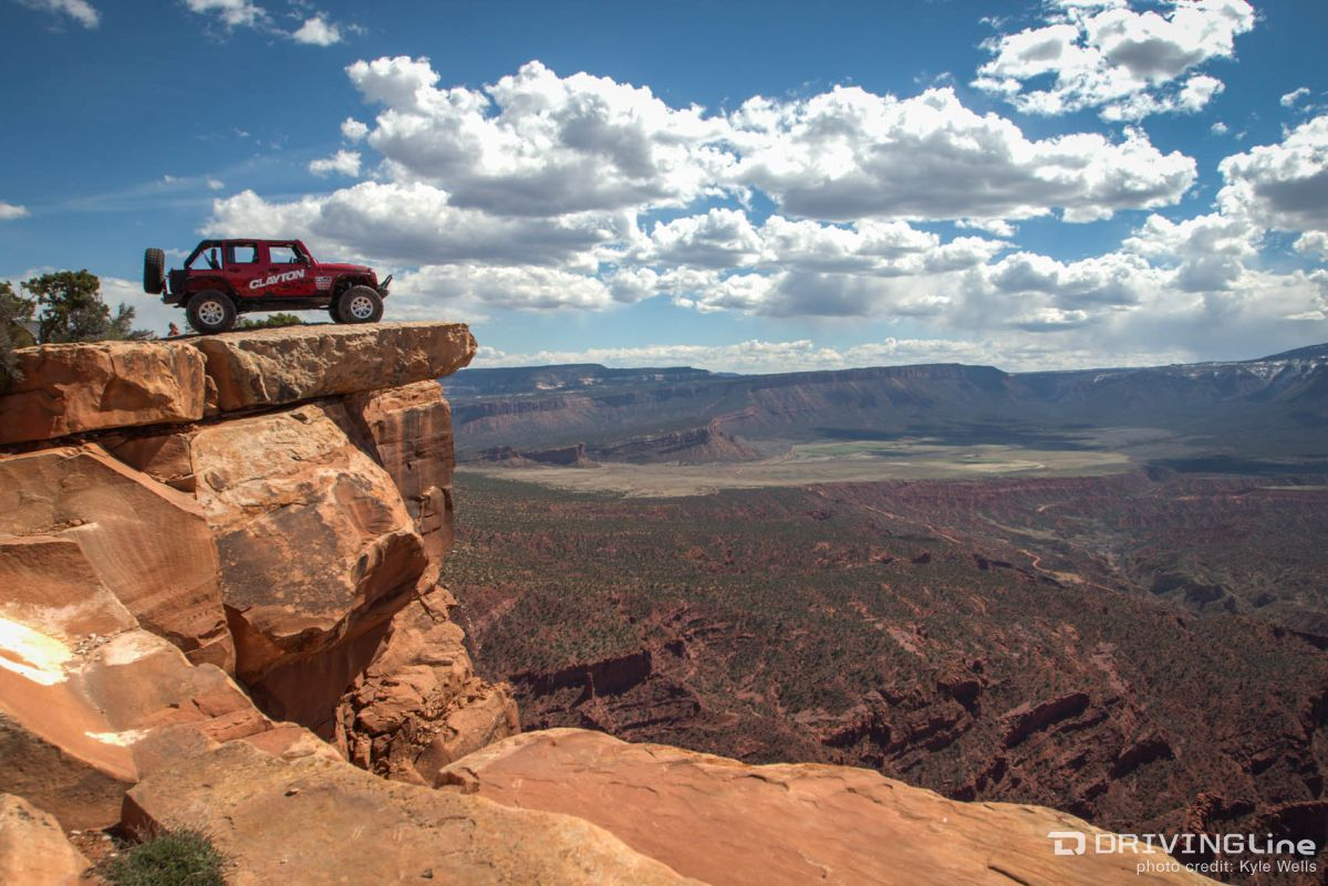 Sitting On Top Of The World In Moab At The 2015 Easter Jeep