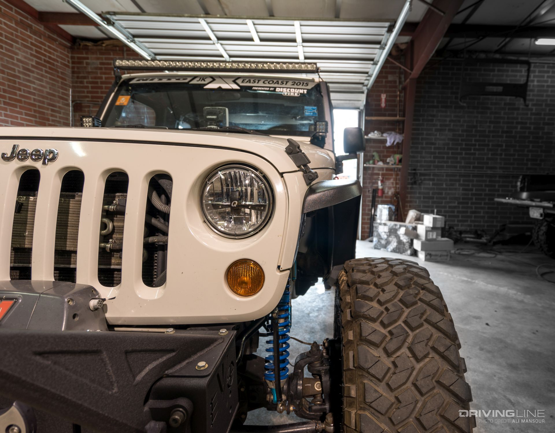 Diesel Jeep Wrangler >> MCE's Narrow JK Fender Review | DrivingLine