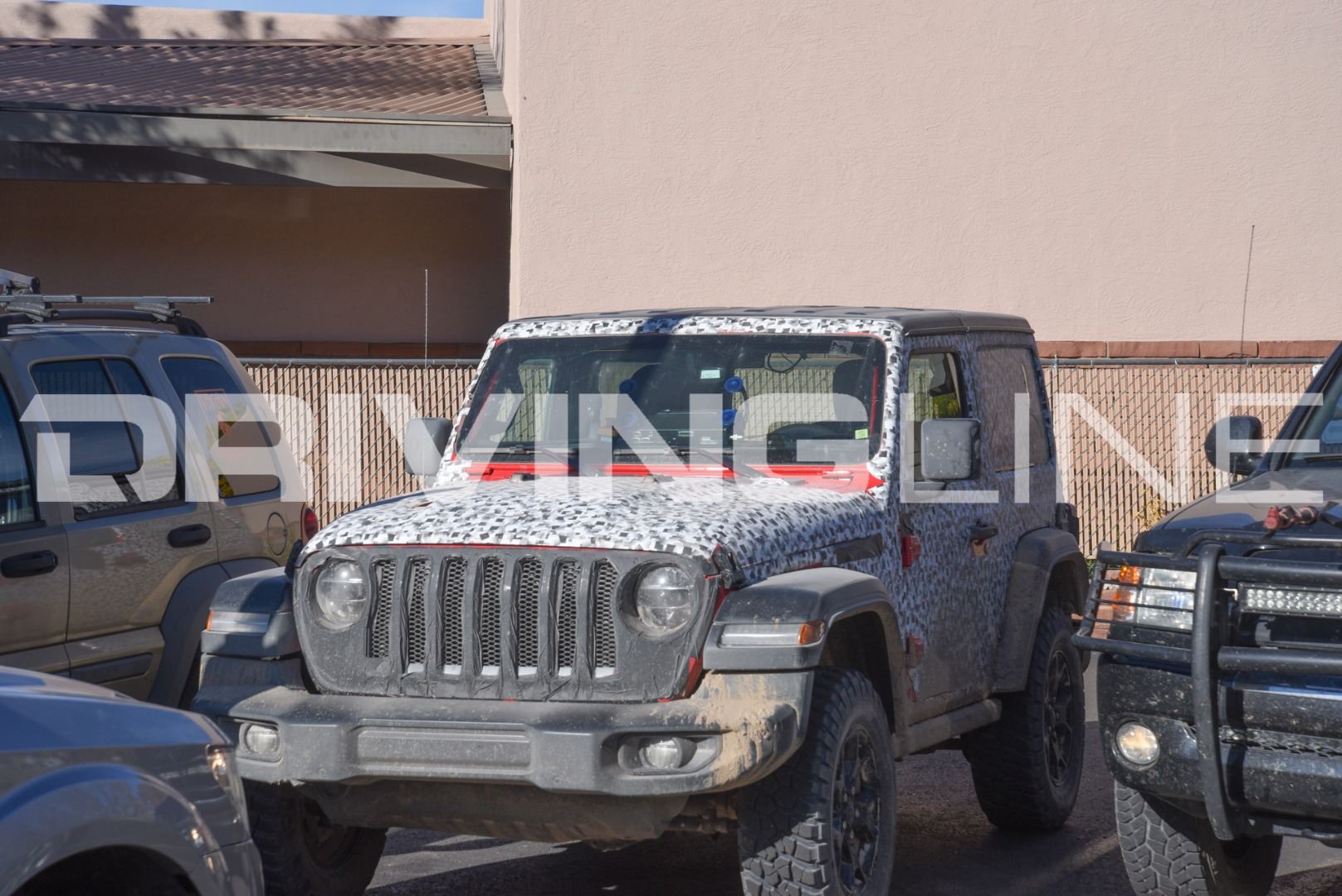2018 jeep moab. plain 2018 spy photos of the 2018 jeep wrangler jl in moab utah  drivingline in jeep moab