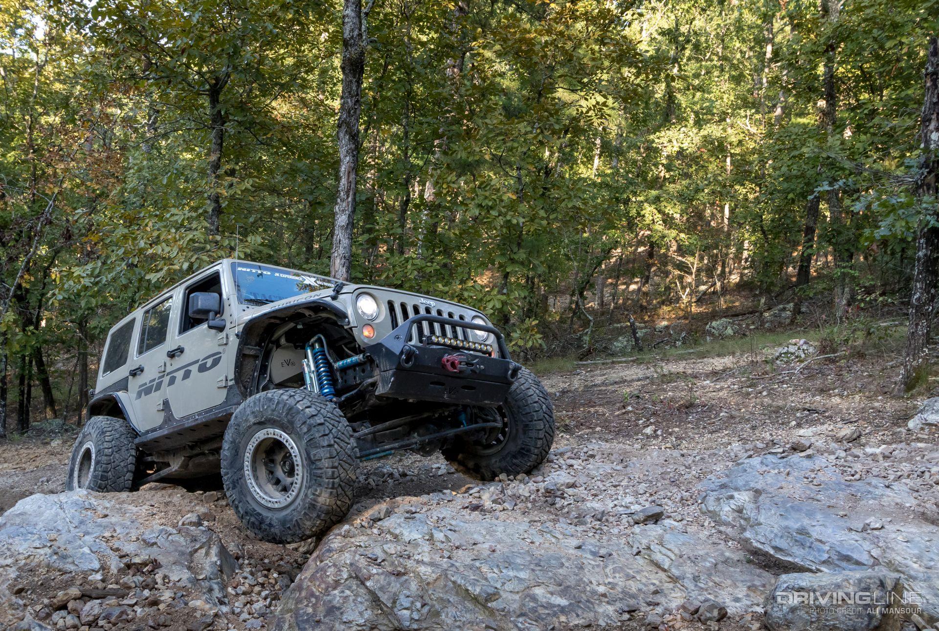Jeeps of JK Experience 2017 [Big River]   DrivingLine
