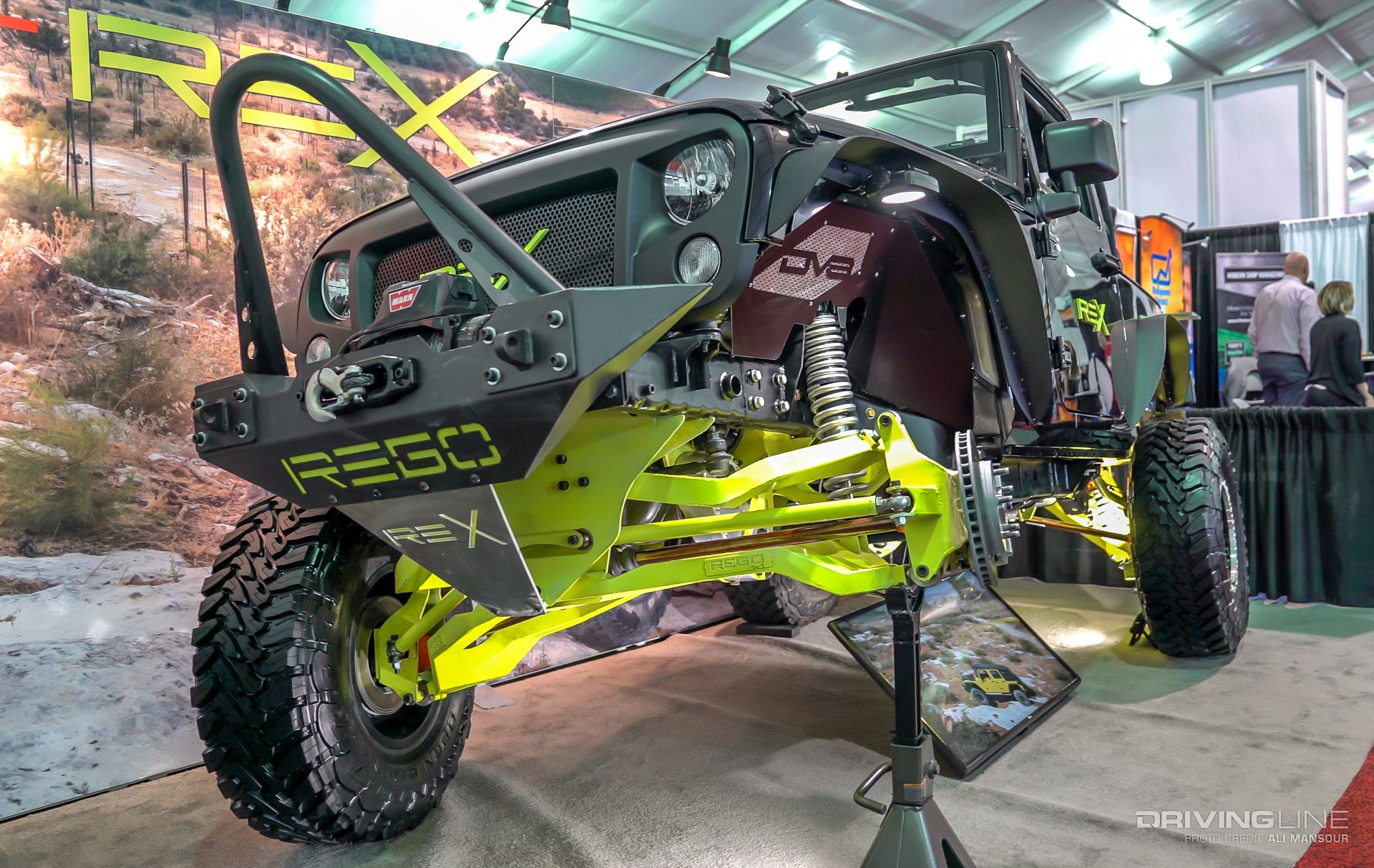 First Look Rego Rex Jeep Wrangler Ifs Irs Conversion