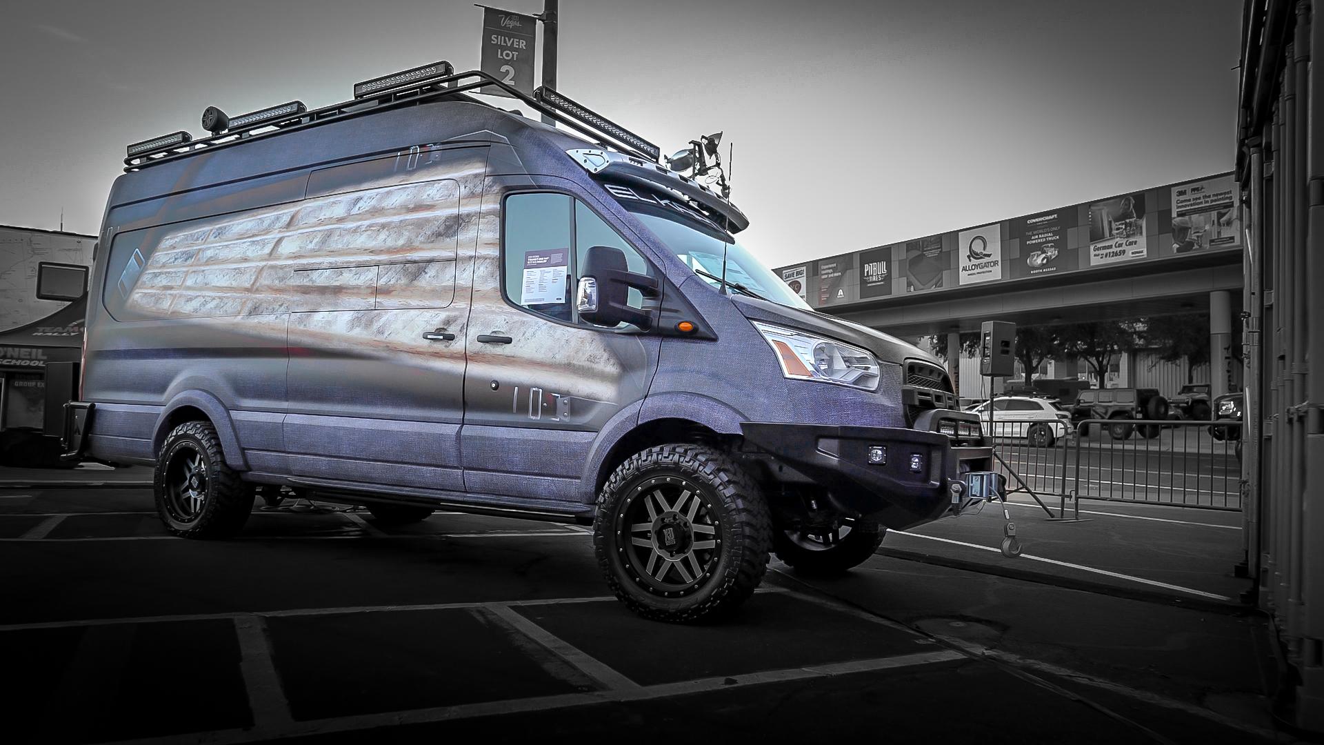 El Kapitan Ford Transit Mx Conversion Van Drivingline