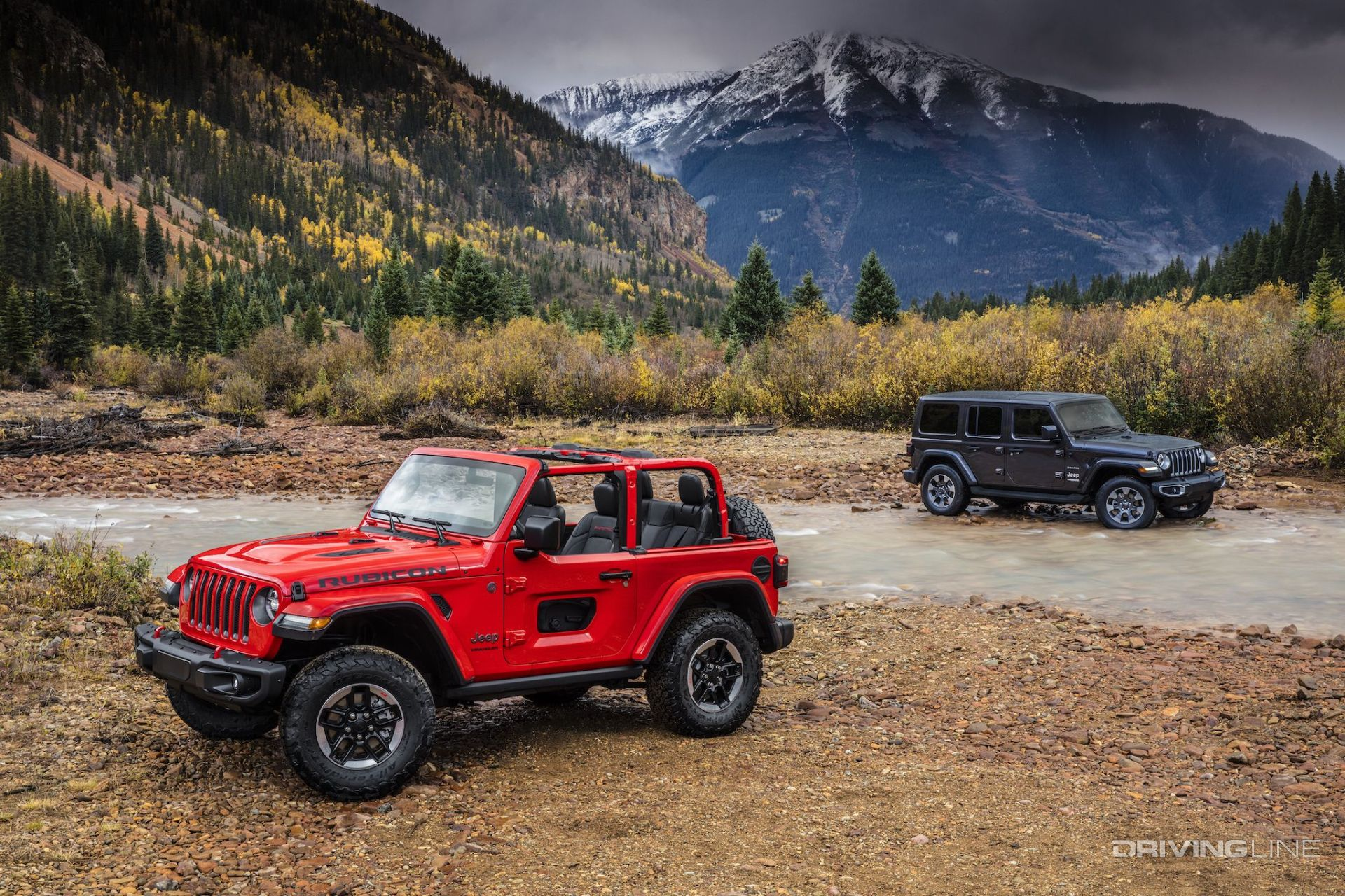 Off Roading Near Me >> The JL is Here! 10 Things You Need to Know About the All-New 2018 Jeep Wrangler | DrivingLine