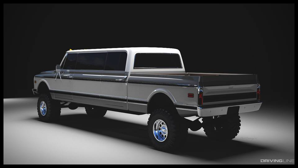 Ride of the Week: Rtech Fabrication's '72 K50 Crew Cab ...