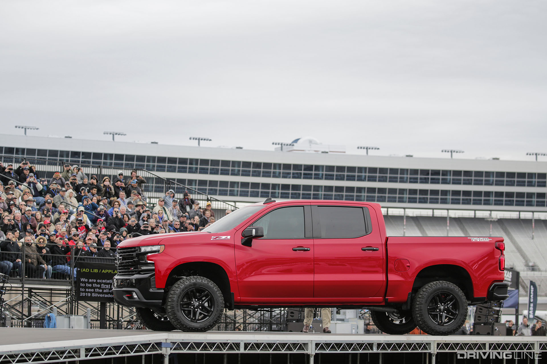 Gmc Special Edition Trucks >> Trail Boss: Chevy Shows Off Next Gen 2019 Silverado in Texas   DrivingLine