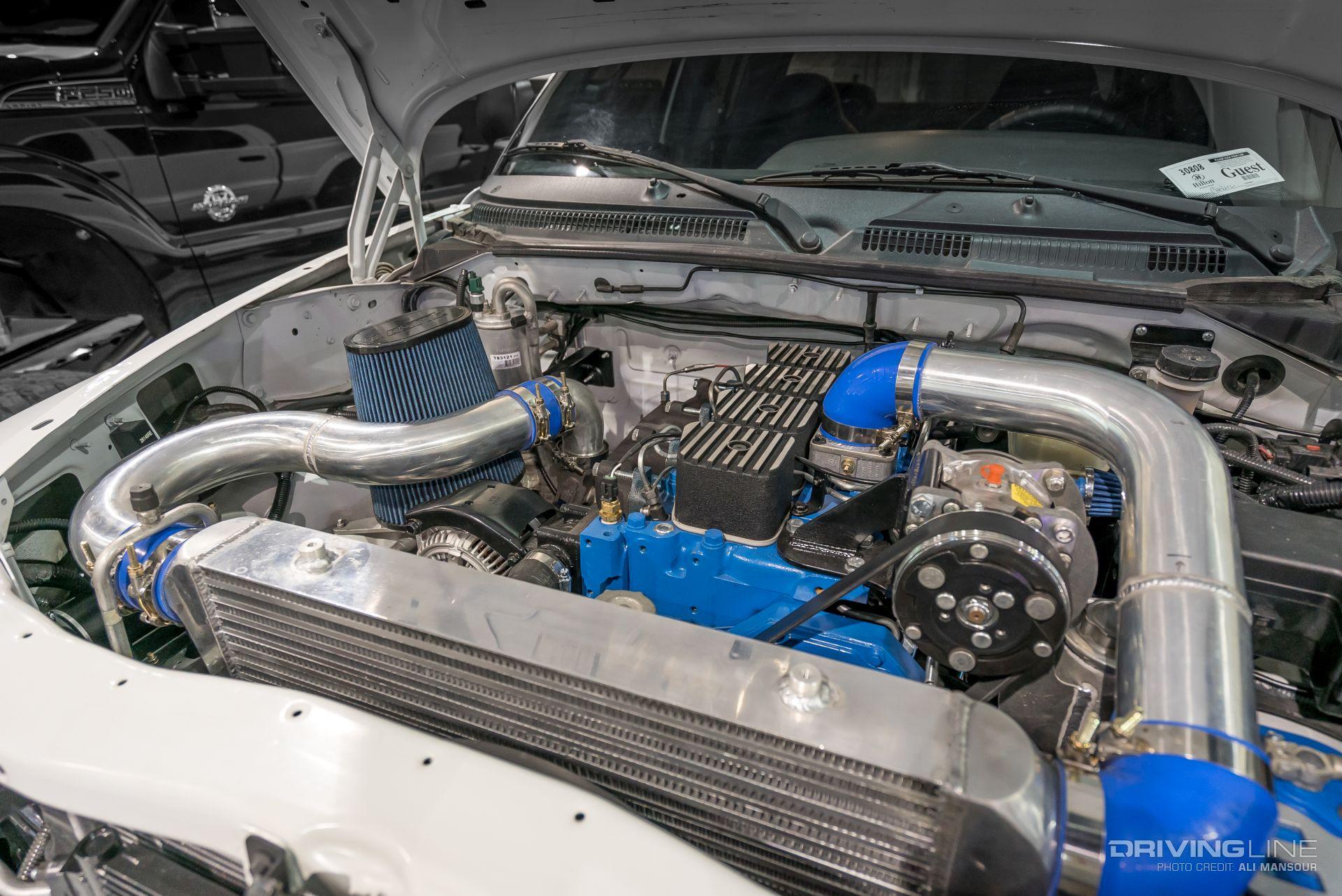 Dodge Dakota Solid Axle Bt Cummins L on Dodge Dakota Hood