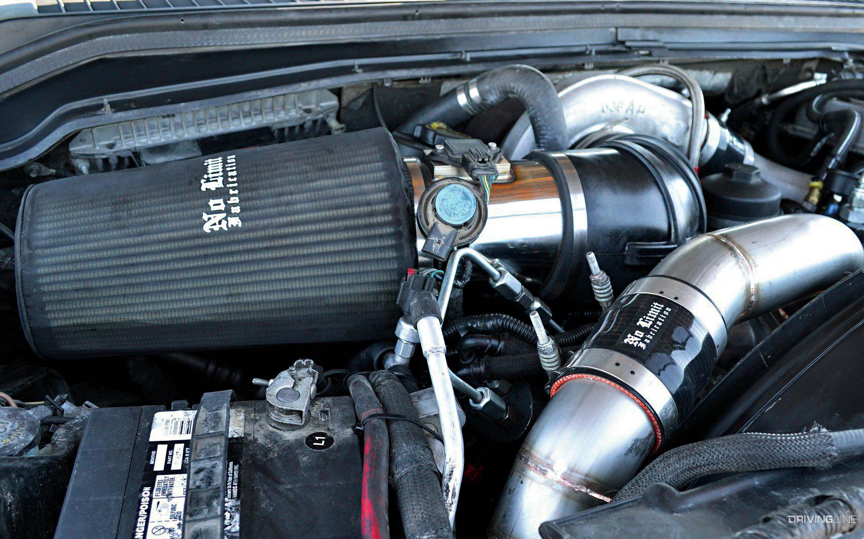 Budget Diesel Mods: 6 4L Power Stroke | DrivingLine