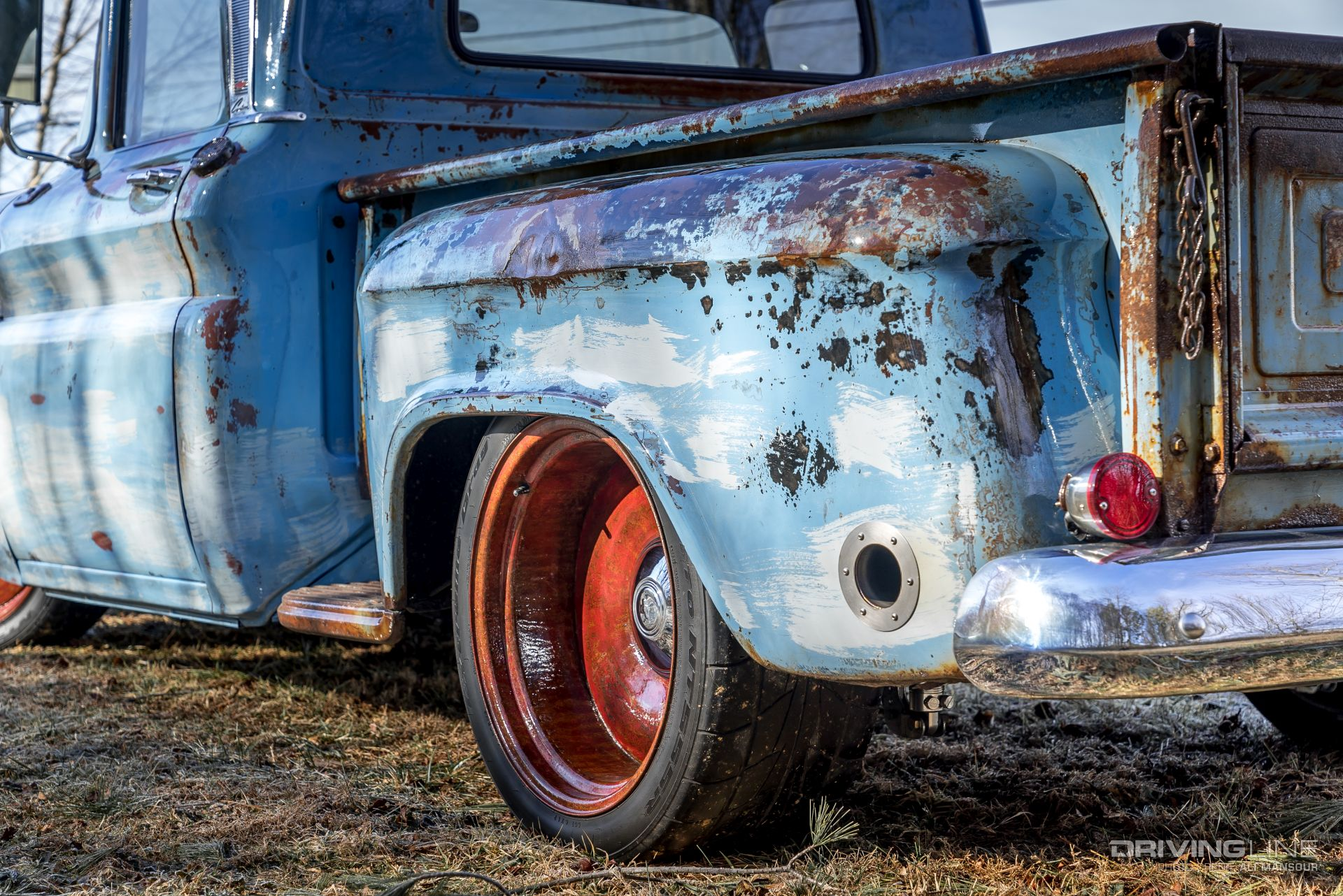 Preserved Patina: Mark Parham's 1961 Chevy Apache 10 ...