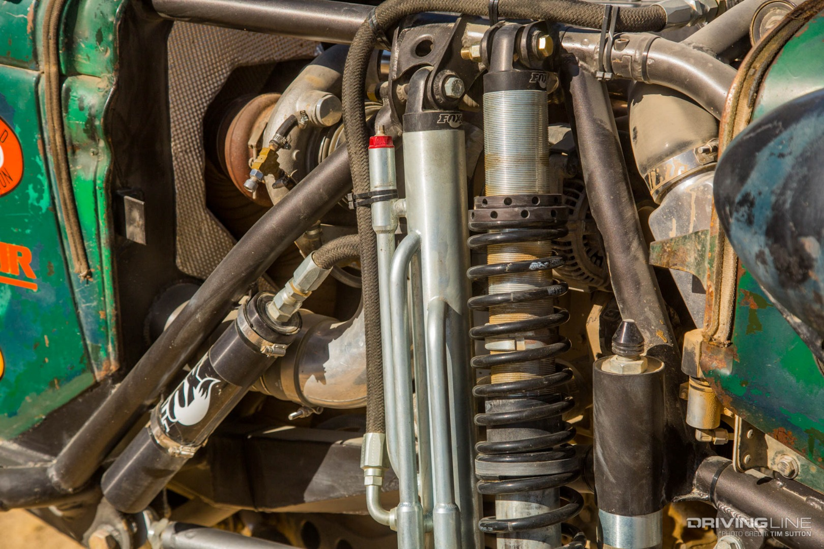 Cummins-Powered Wagon: A Closer Look at the RaceTractor Rock Crawler