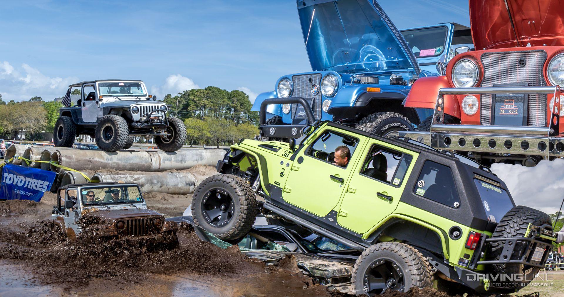 2018 Myrtle Beach Jeep Jam Video Drivingline