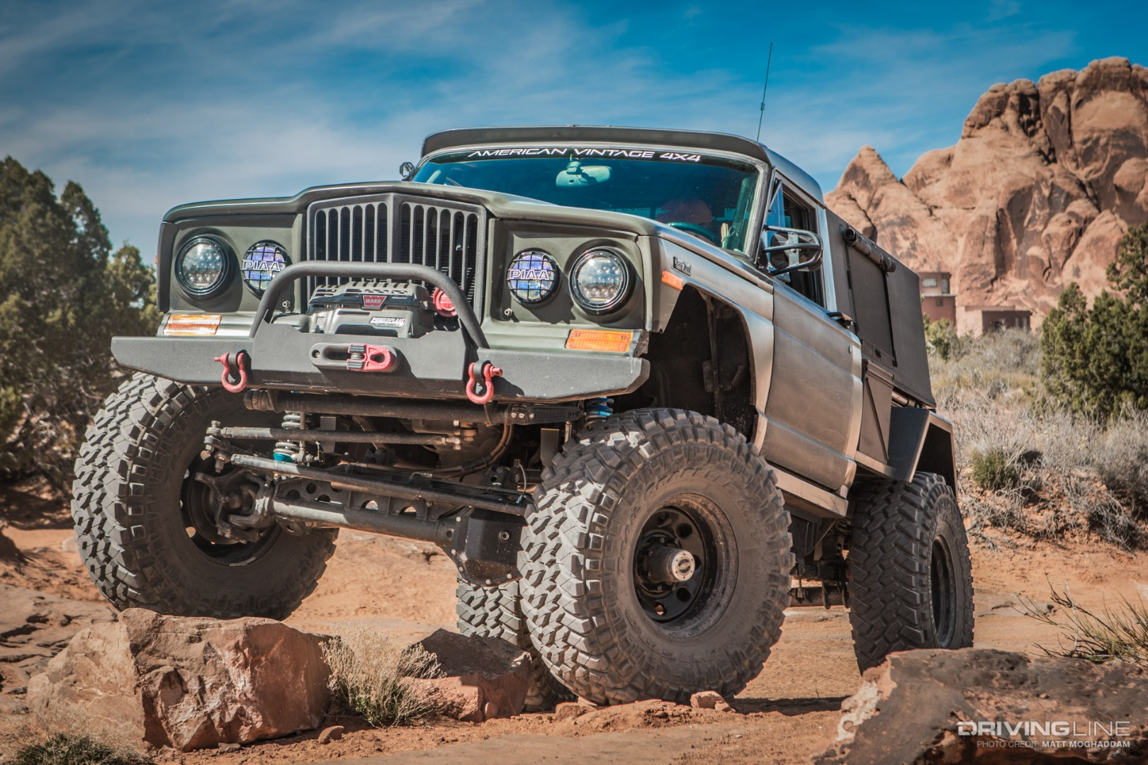 Enter the Dragon: A Closer Look at American Vintage 4x4's