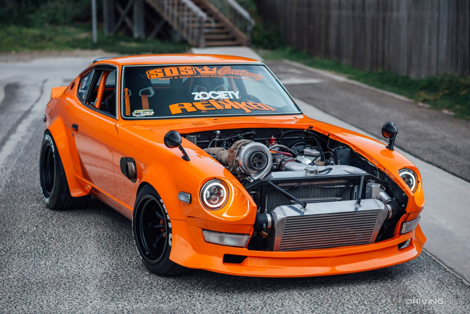 Shooting Star: An LS Swapped 240Z That's Burning Brightly ...