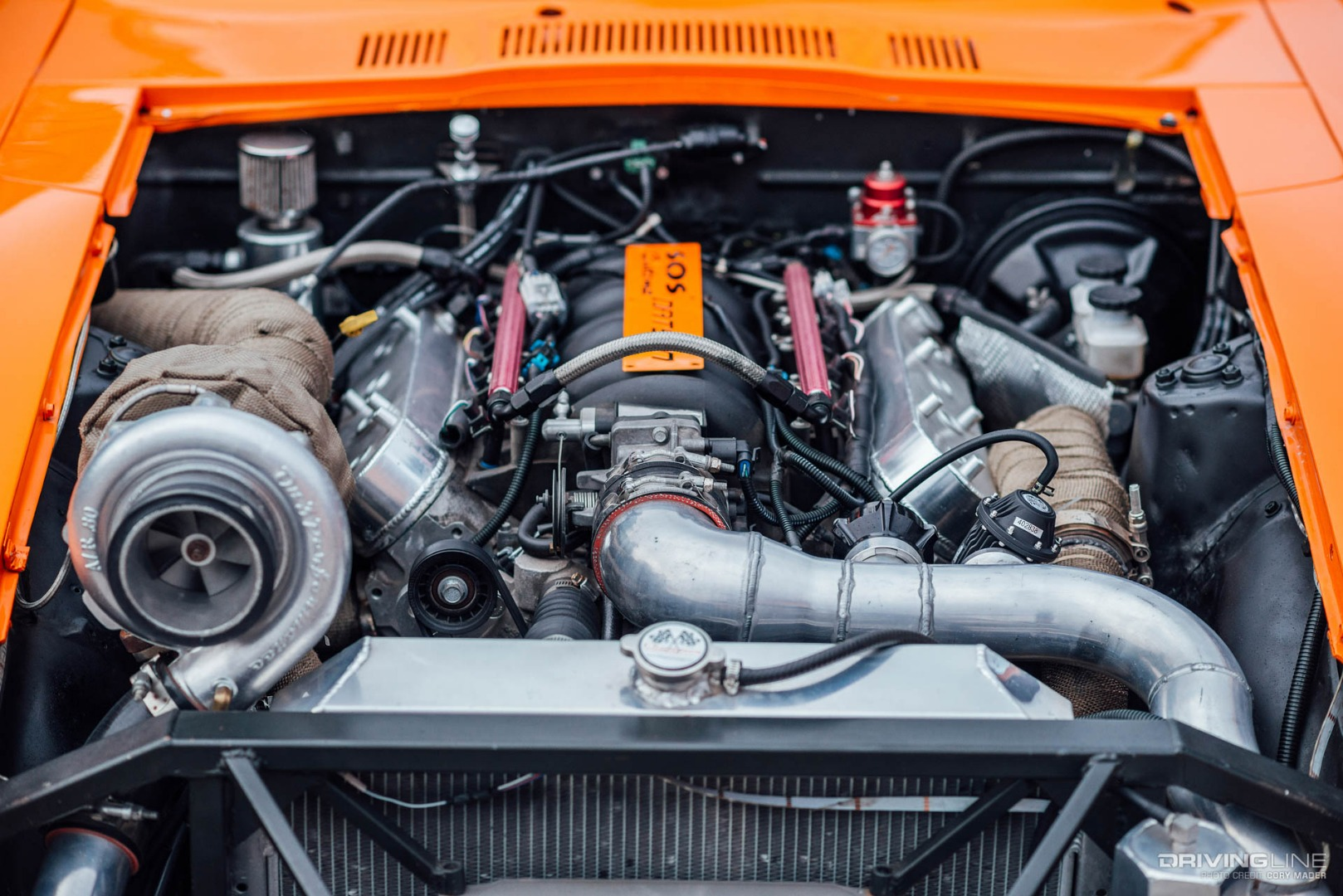 Shooting Star: An LS Swapped 240Z That's Burning Brightly