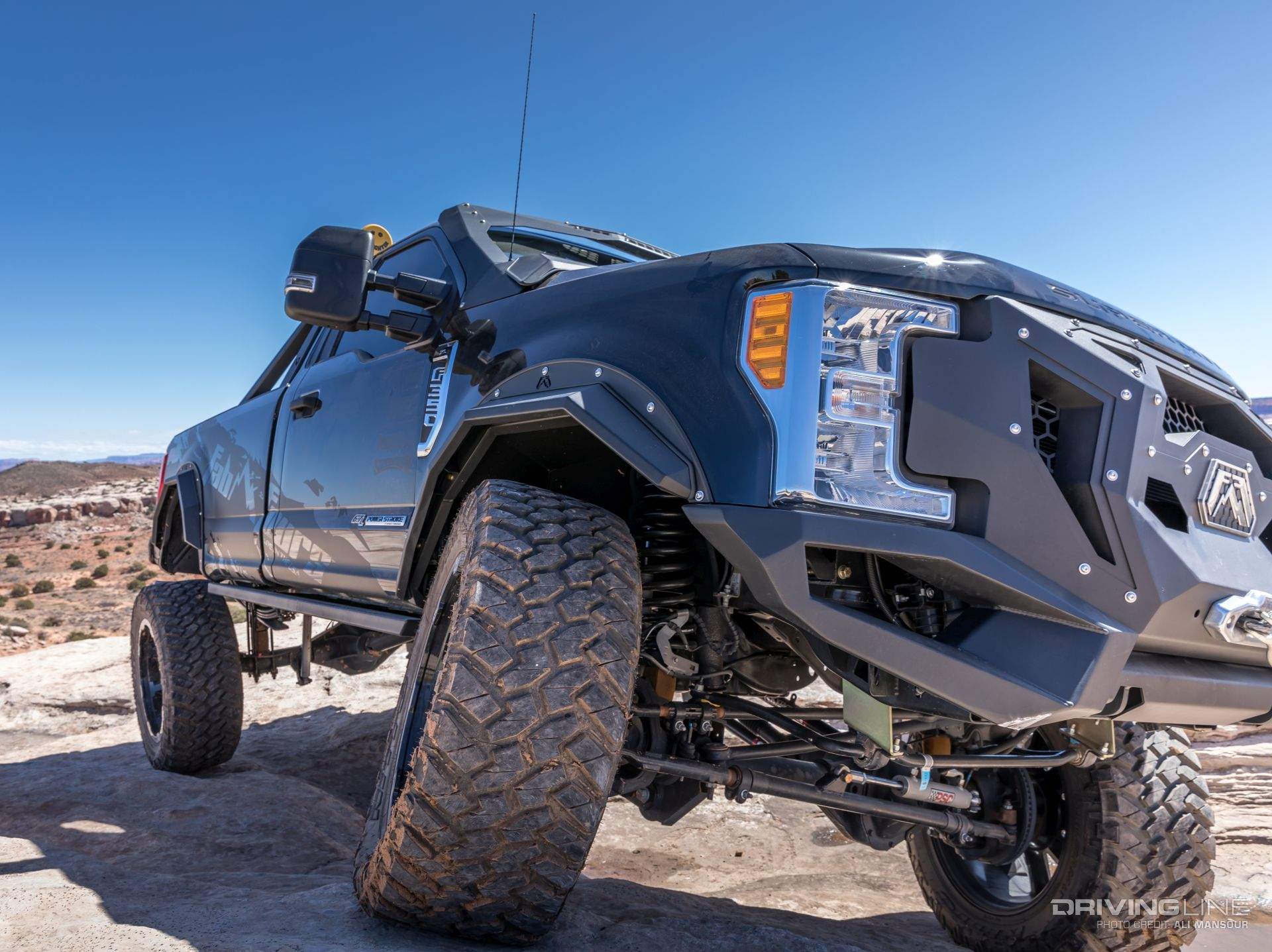 Jeep Leveling Kit >> Project Daylighter: Fab Fours 2017 Ford F-350 [Video] | DrivingLine