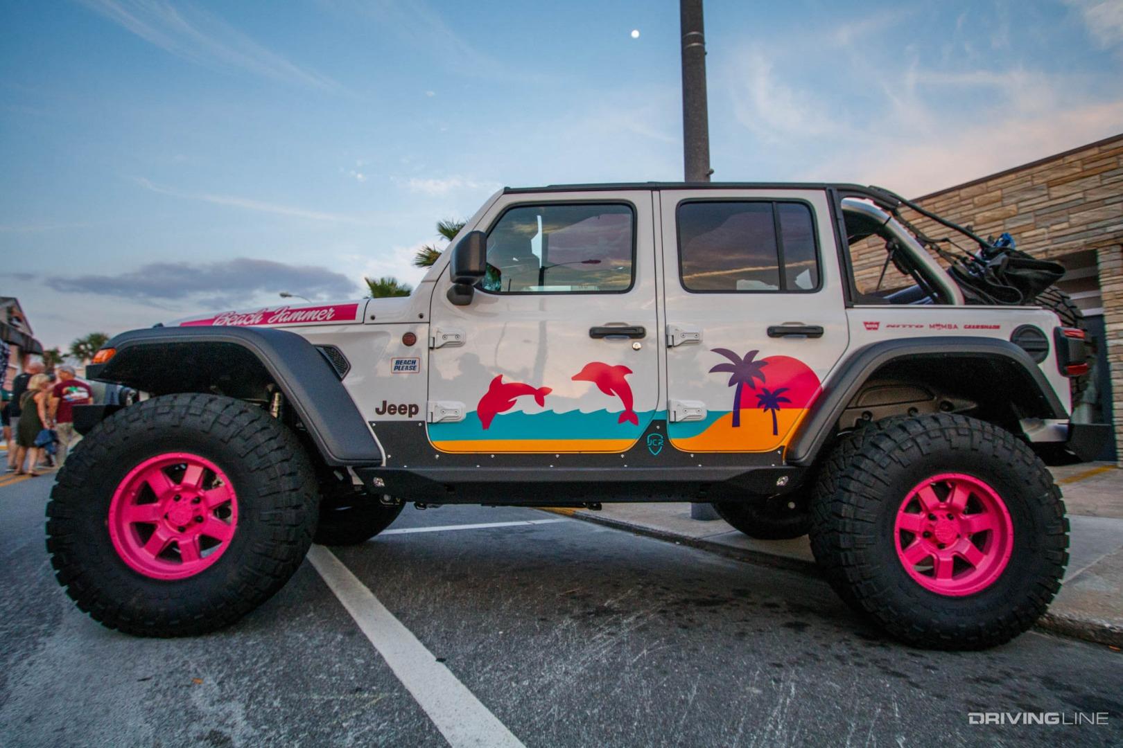 Jeep Wrangler Diesel >> Jeep Beach 2018 [Gallery] | DrivingLine