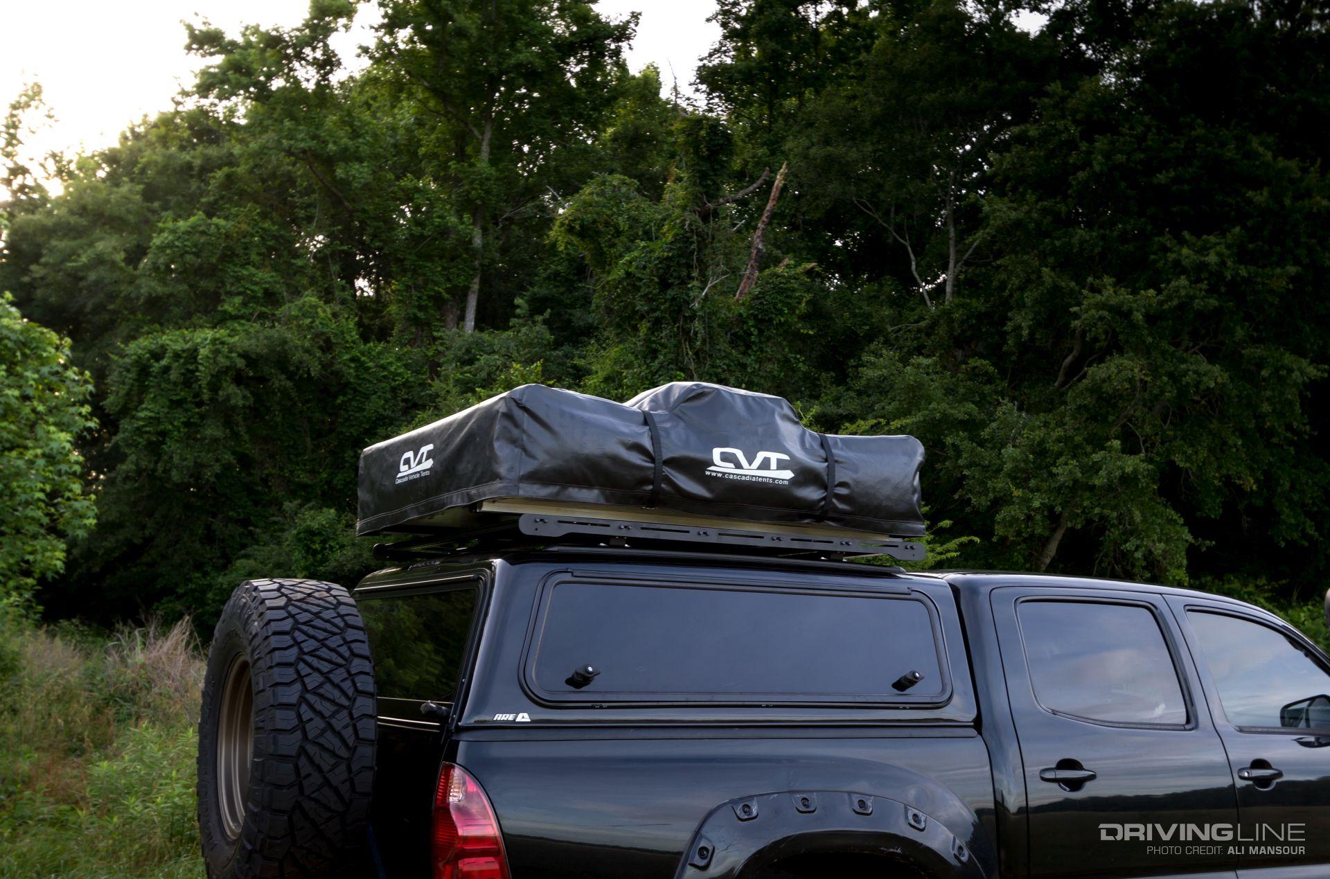Toyota Tacoma Tent >> Camp and Carry: PrinSu Design Studio Toprac [Video ...