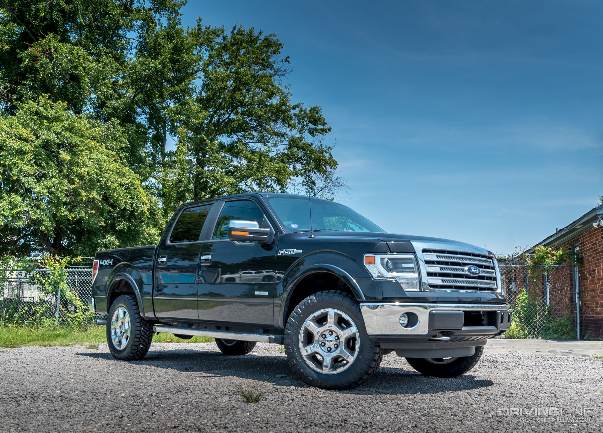 2014 F150 Leveling Kit >> F 150 Nose Lift How To Level A Late Model Ford Video