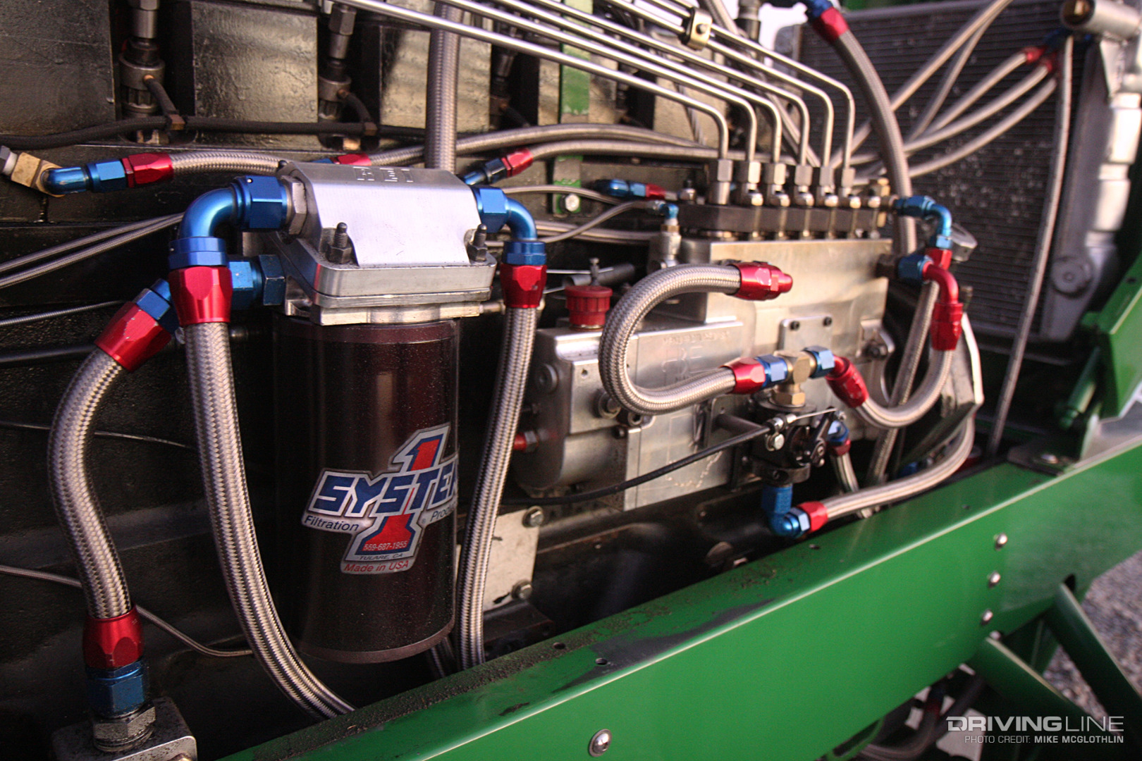 Anatomy of a Pro Stock Tractor   DrivingLine