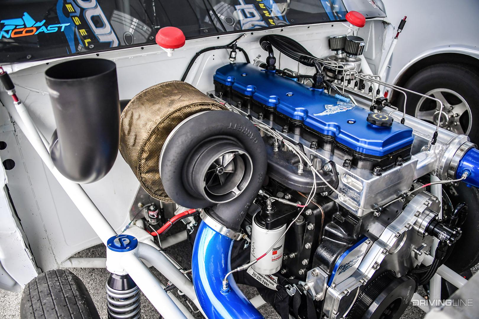 Fastest Diesel Truck >> Anatomy of a Pro Mod Diesel Drag Truck | DrivingLine