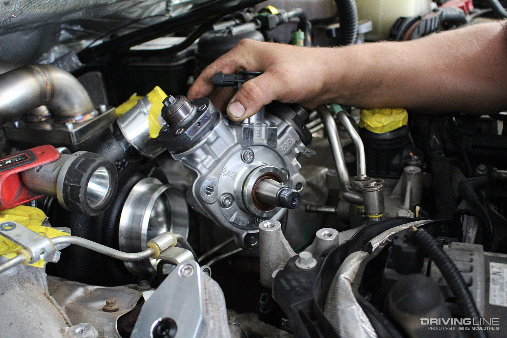 How To Remove Fuel Injectors Chevy 350