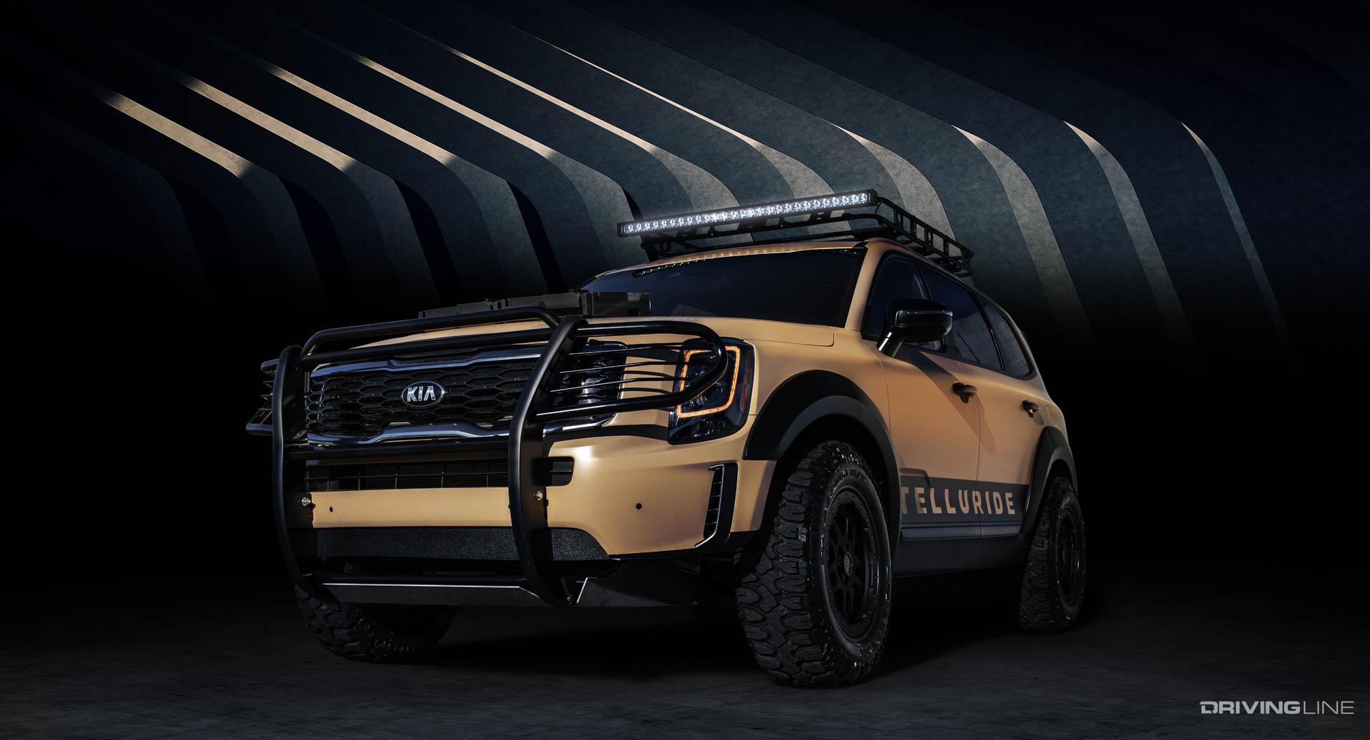 Kia Brings Overland Tellurides to SEMA | DrivingLine