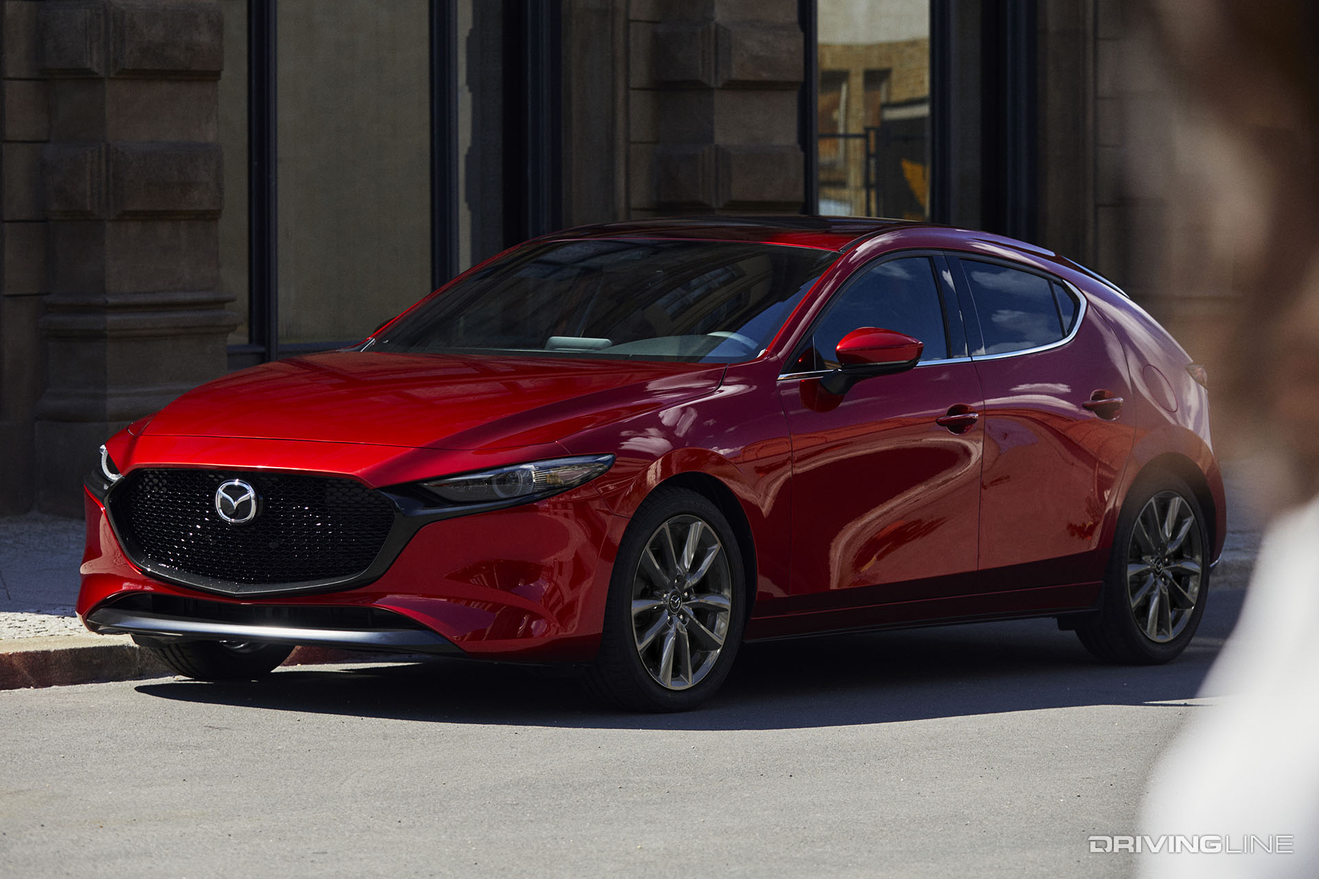 mazda says cars still matter with the 2019 mazda3