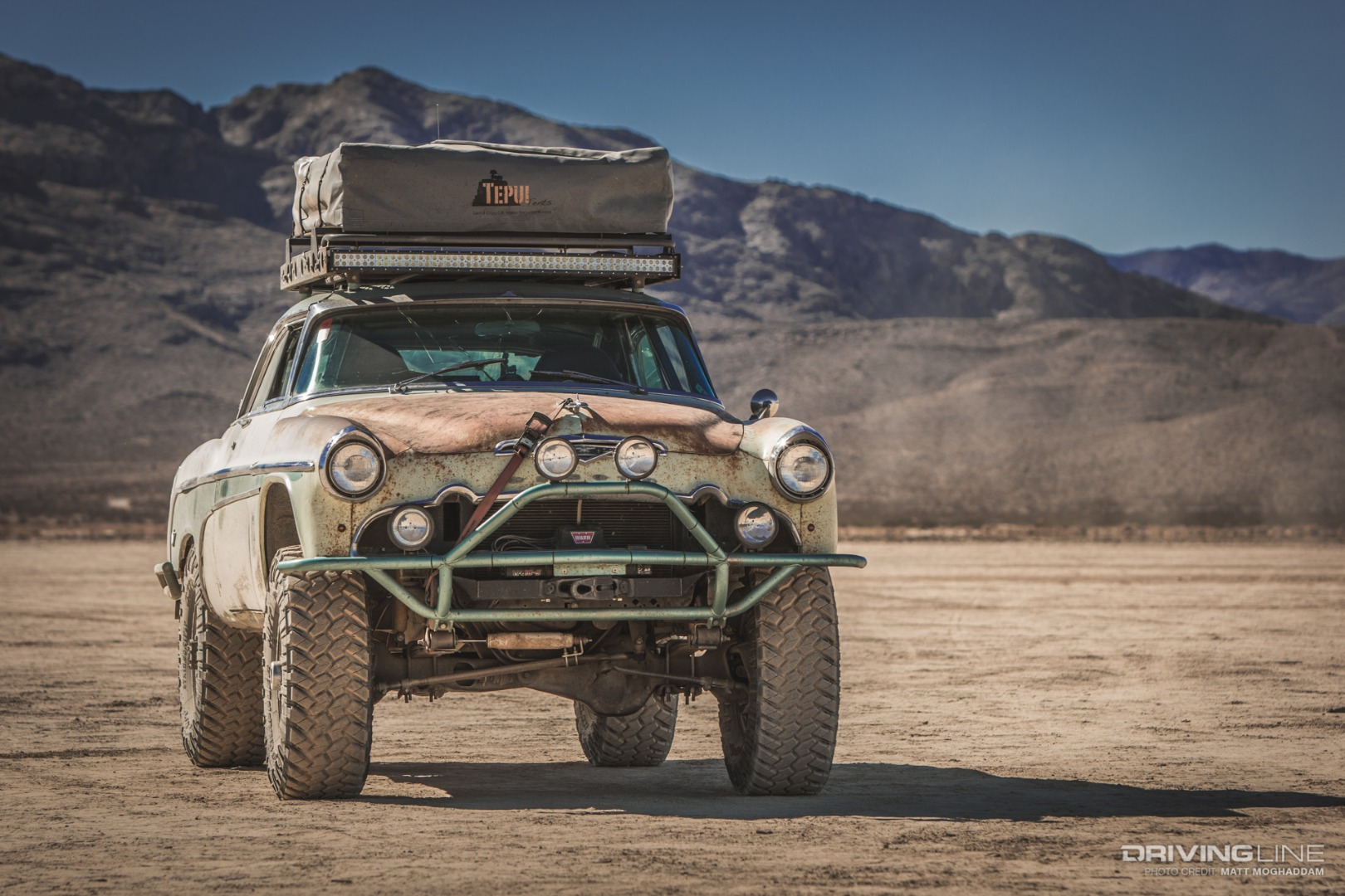 Mad Max Meets Doc Hudson: The 4x4 DeSoto You Need in Your Life