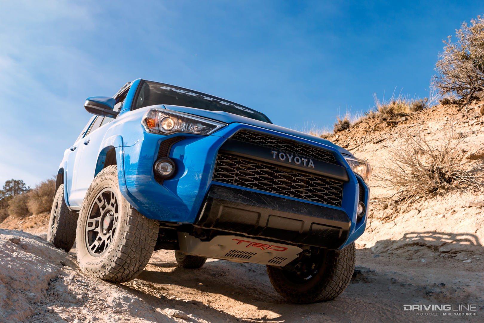 Toyota Sequoia Vs 4Runner >> 2019 Toyota 4Runner TRD Pro Off-Road Review | DrivingLine