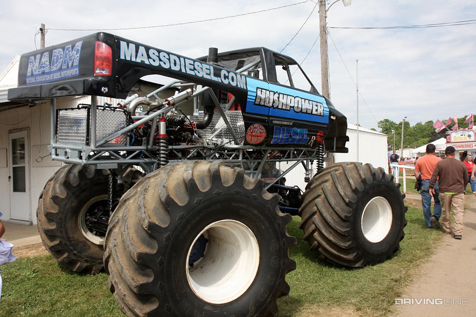 greatest diesel powered monster trucks drivingline
