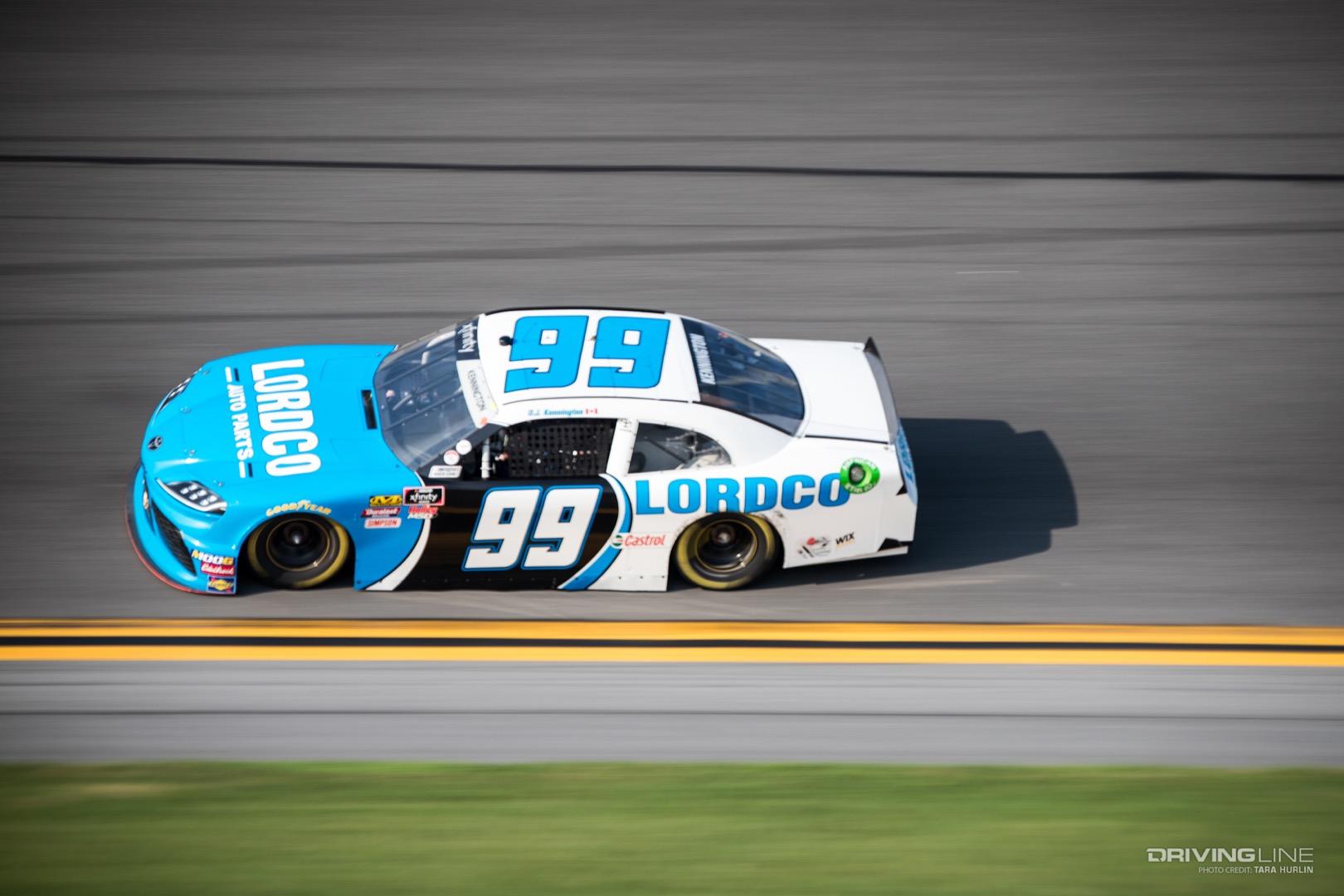 Toyota Tundra Diesel >> NASCAR Supra Debuts at Daytona | DrivingLine