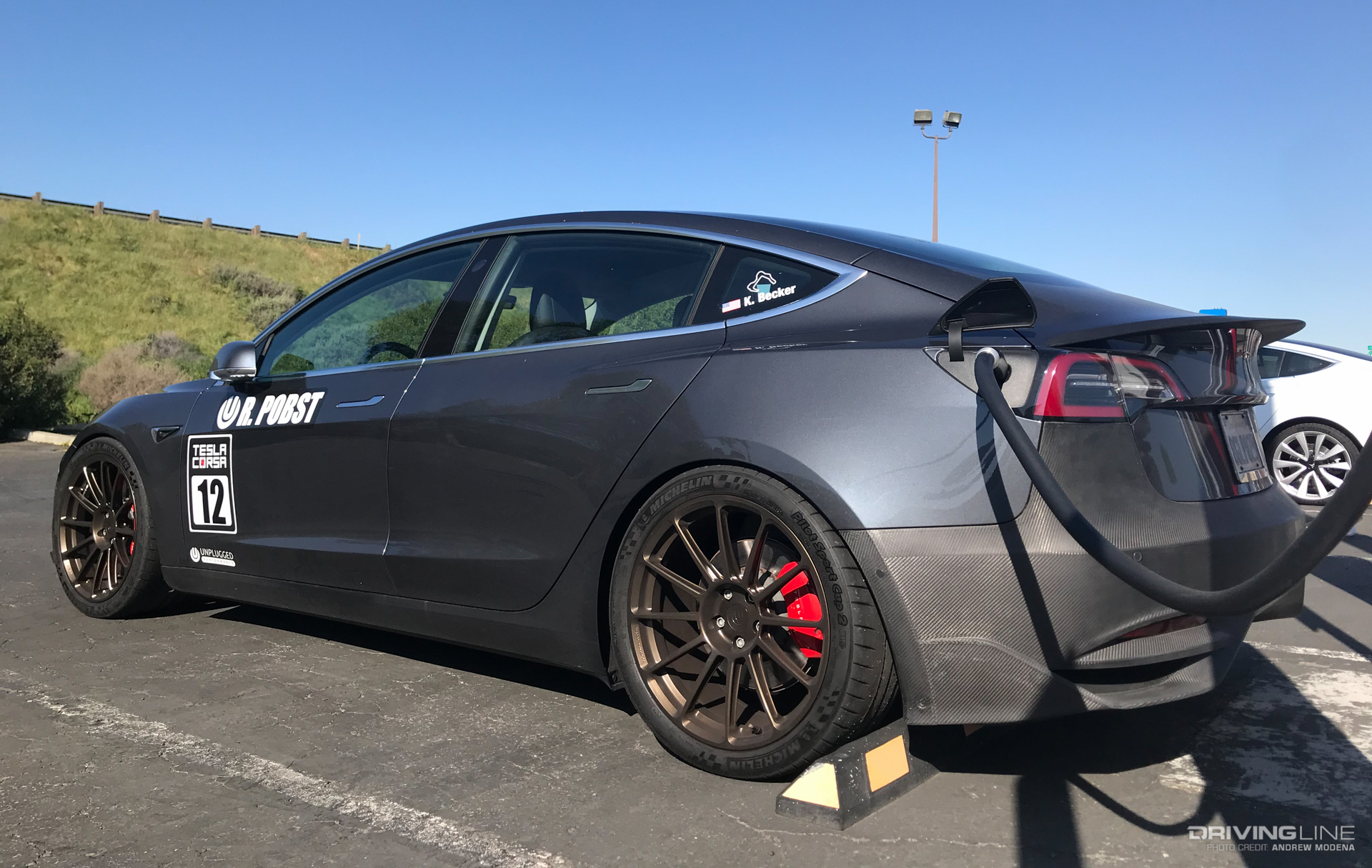 Tesla Takeover: A Day at a Tesla Corsa Track Day | DrivingLine