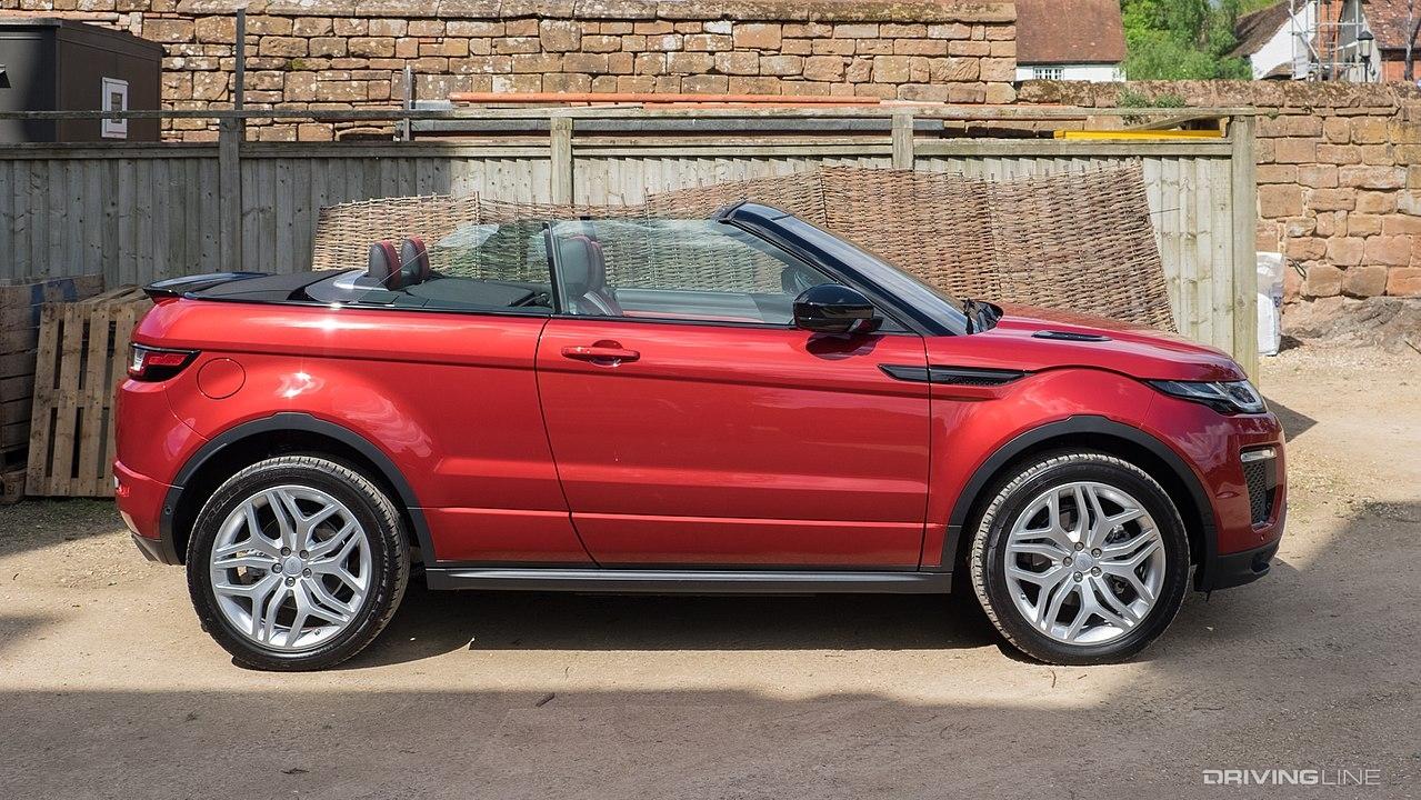 Range Rover Evoque Convertible >> The 6 Best (and 5 Weirdest) 2 Door SUVs of All Time | DrivingLine