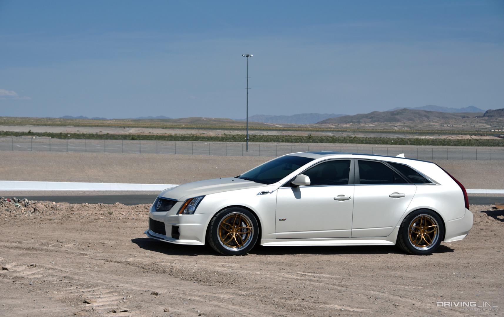 Cadillac Sleeper Wagon 2012 Cts V With 750hp Drivingline
