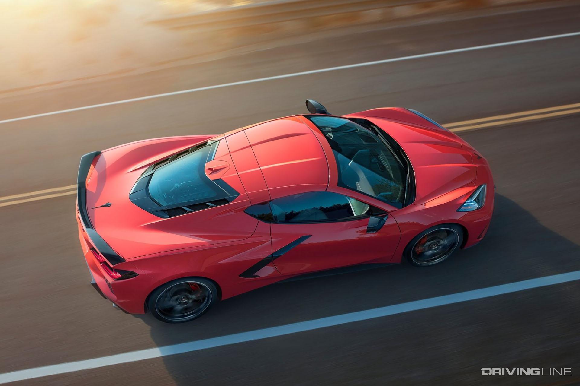 Mid-Engine Showdown: Acura NSX vs 2020 C8 Corvette ...