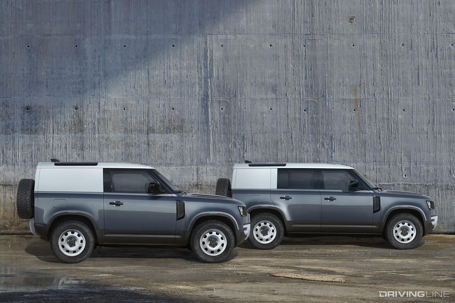 Retro-Styled 2020 Land Rover Defender | DrivingLine