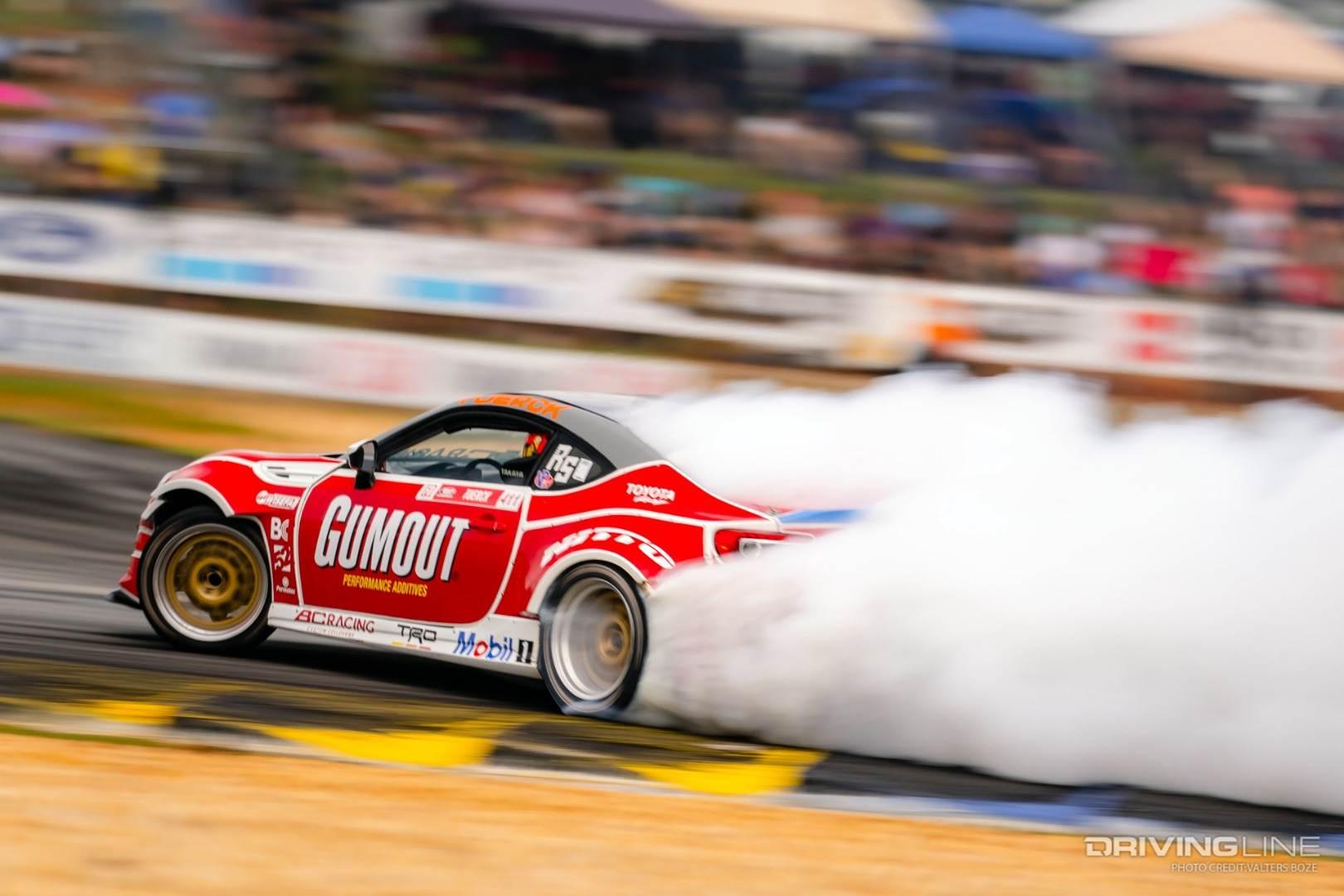 Ryan Tuerk's GT86 drifting