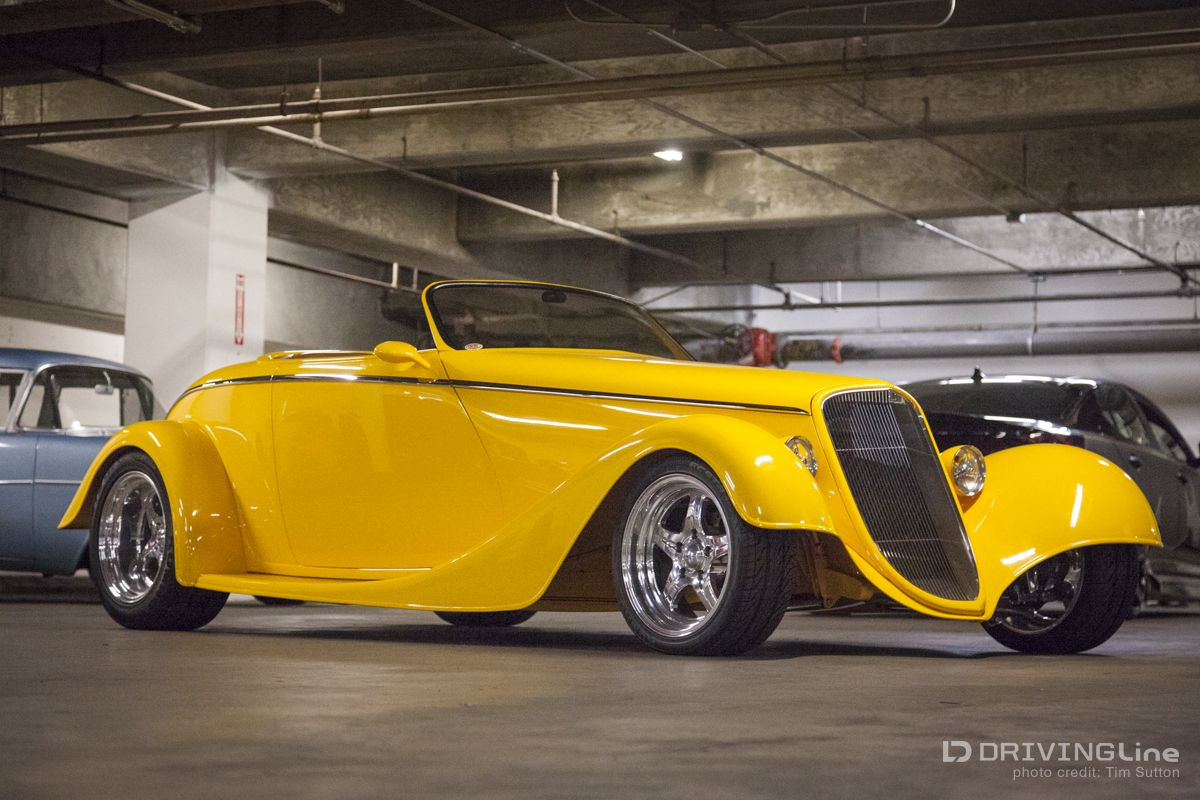 Cars colored yellow - Another Chip Foose Design Impact Draws You In With Its Simplicity And Then Wows You With Its Vivid Yellow Color One Of If Not The First Ambr Cars