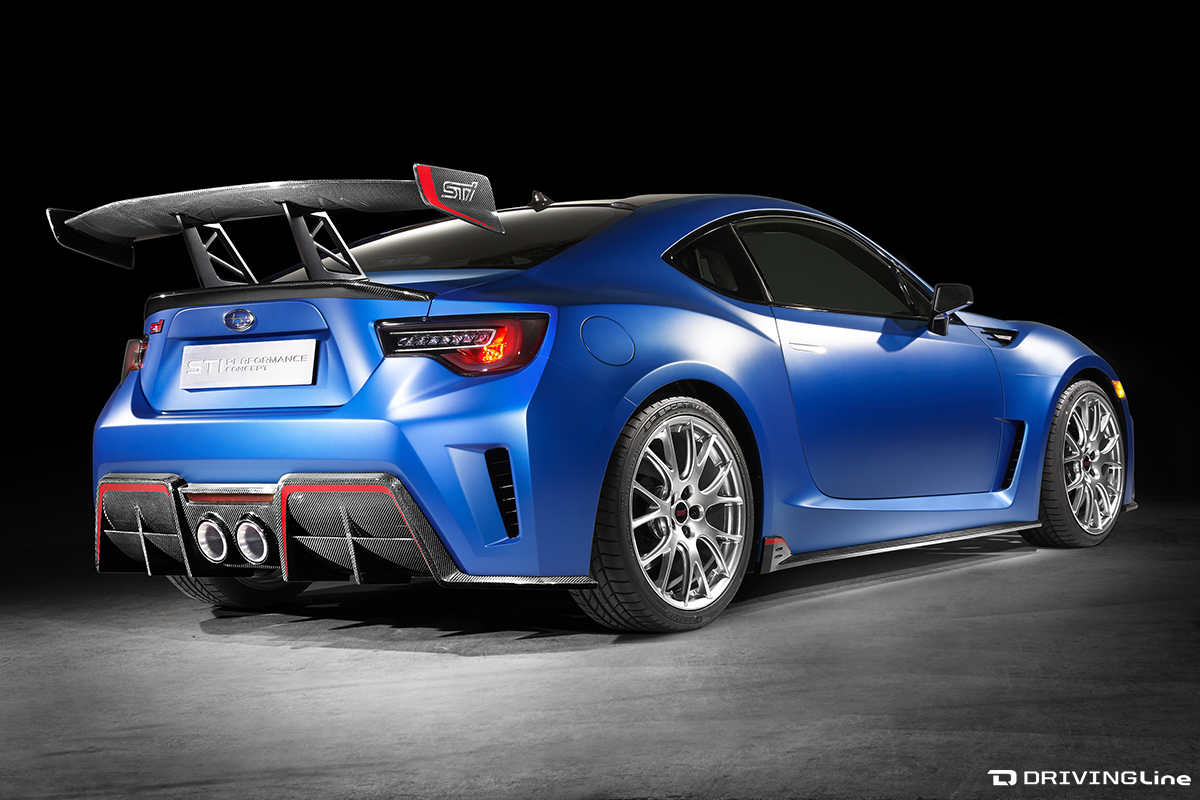2018 subaru brz sti. beautiful subaru only time will tell just how much of the brz sti performance concept  make its way onto a finalized usversion u2013 and if or when it does  intended 2018 subaru brz sti