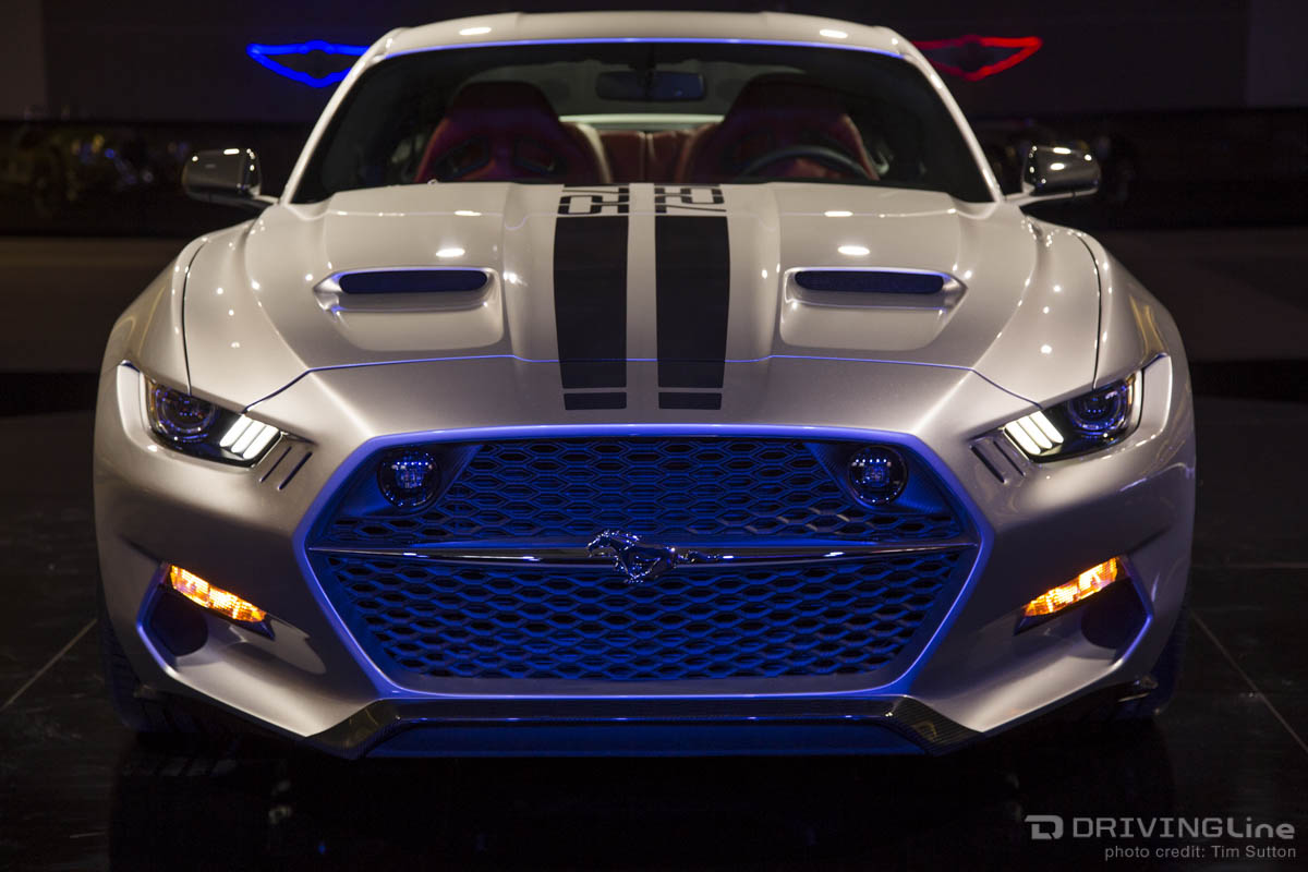 Mustang Turned Rocketship The Galpin Rocket